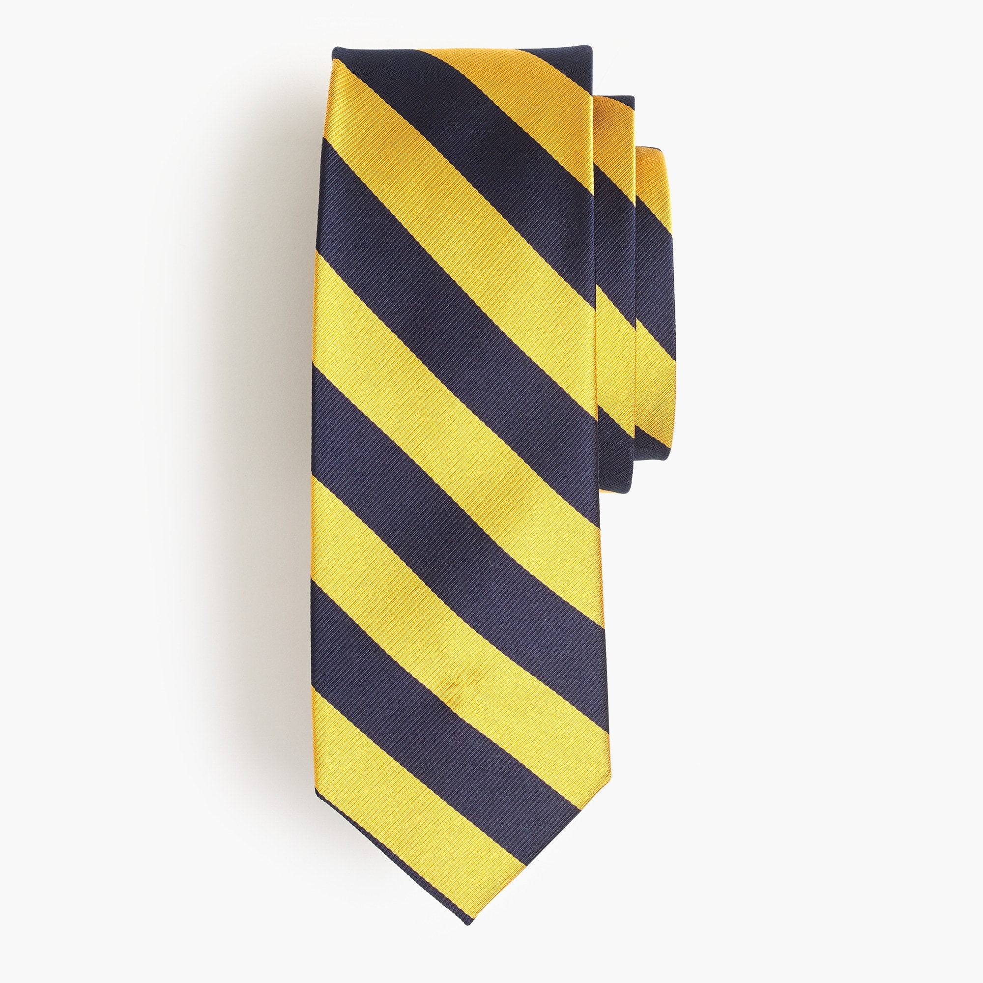 Silk repp striped tie men new arrivals c