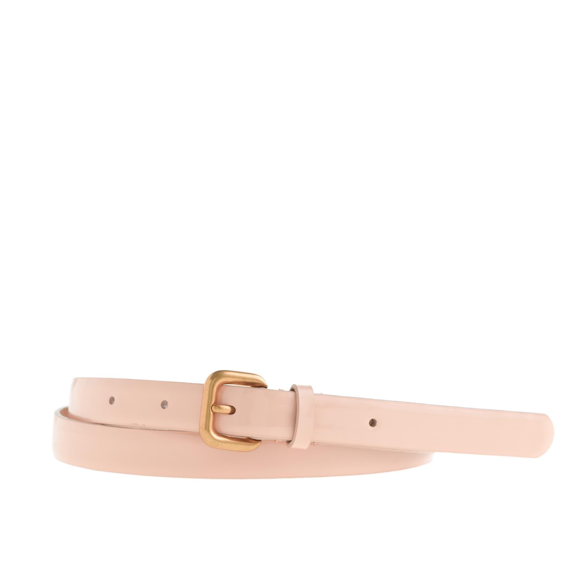 Slim patent belt