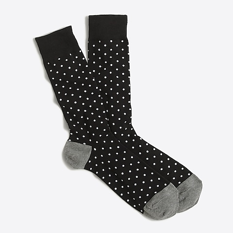 factory mens Microspot socks