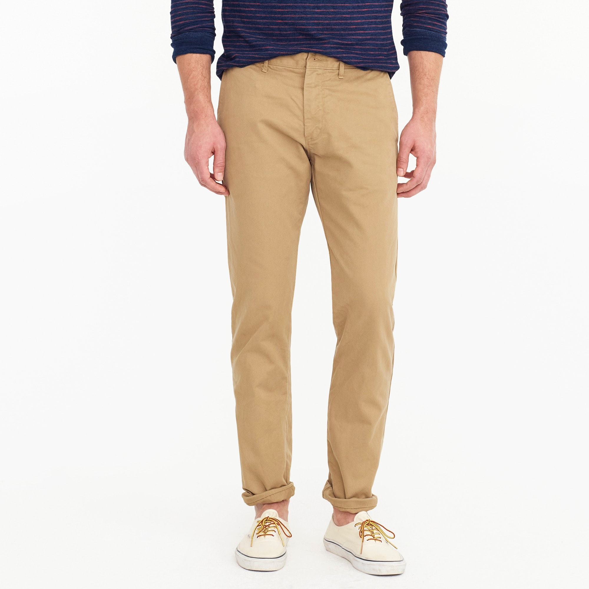 484 Slim-fit pant in broken-in chino men pants c