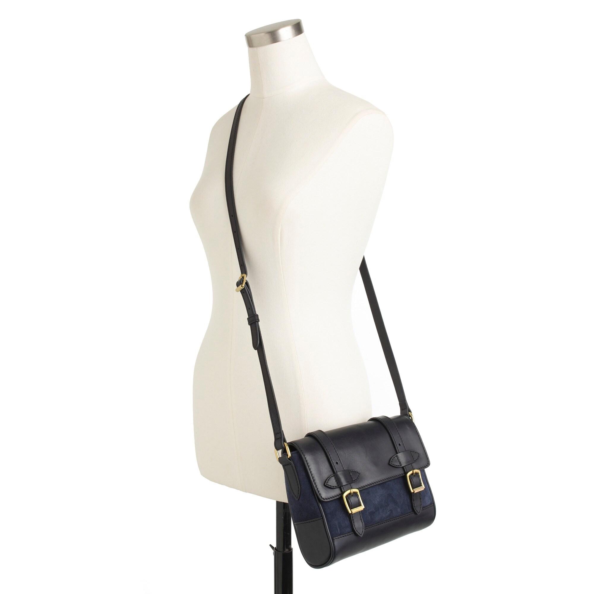 Marlie purse in suede