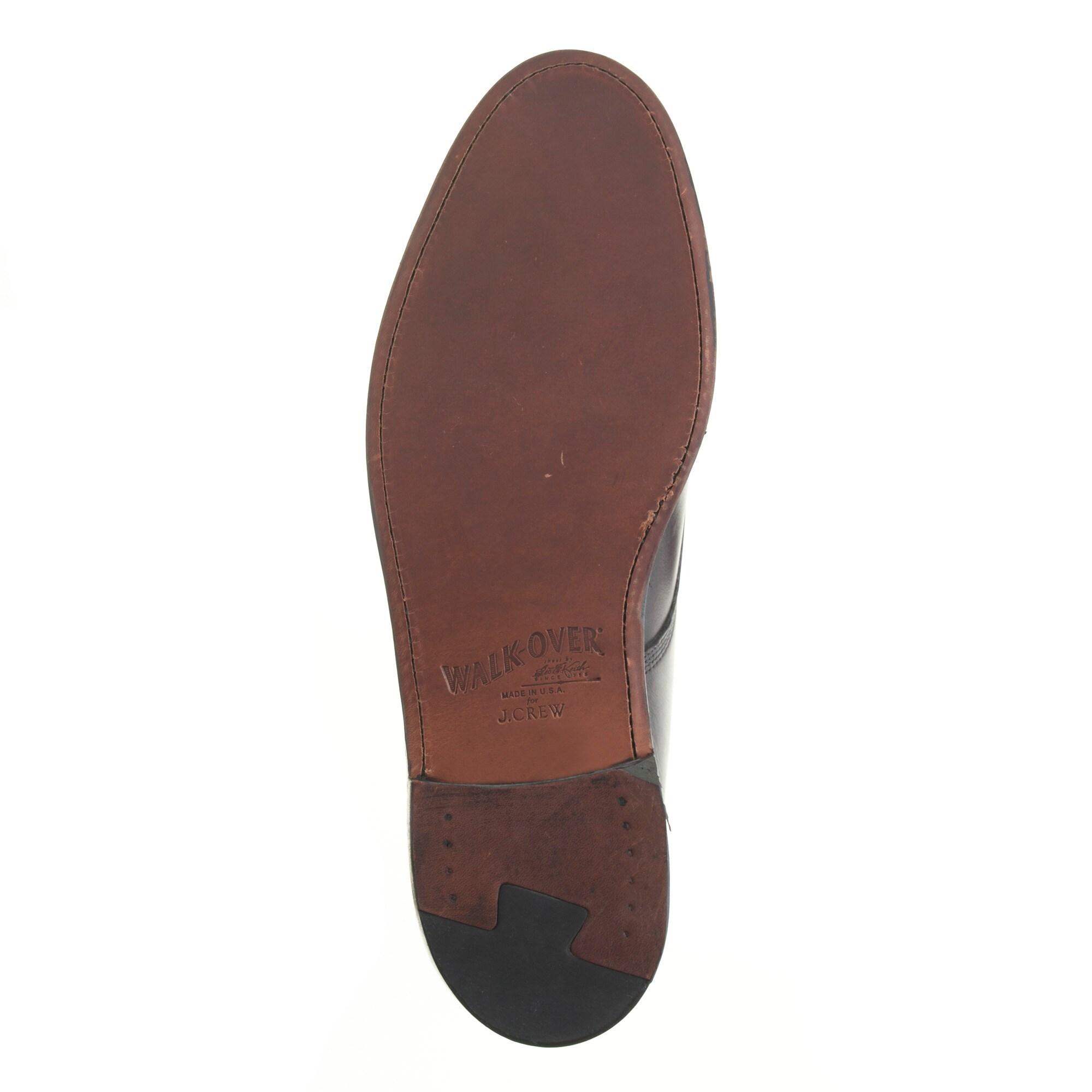 Walk-Over® plain-toe bluchers