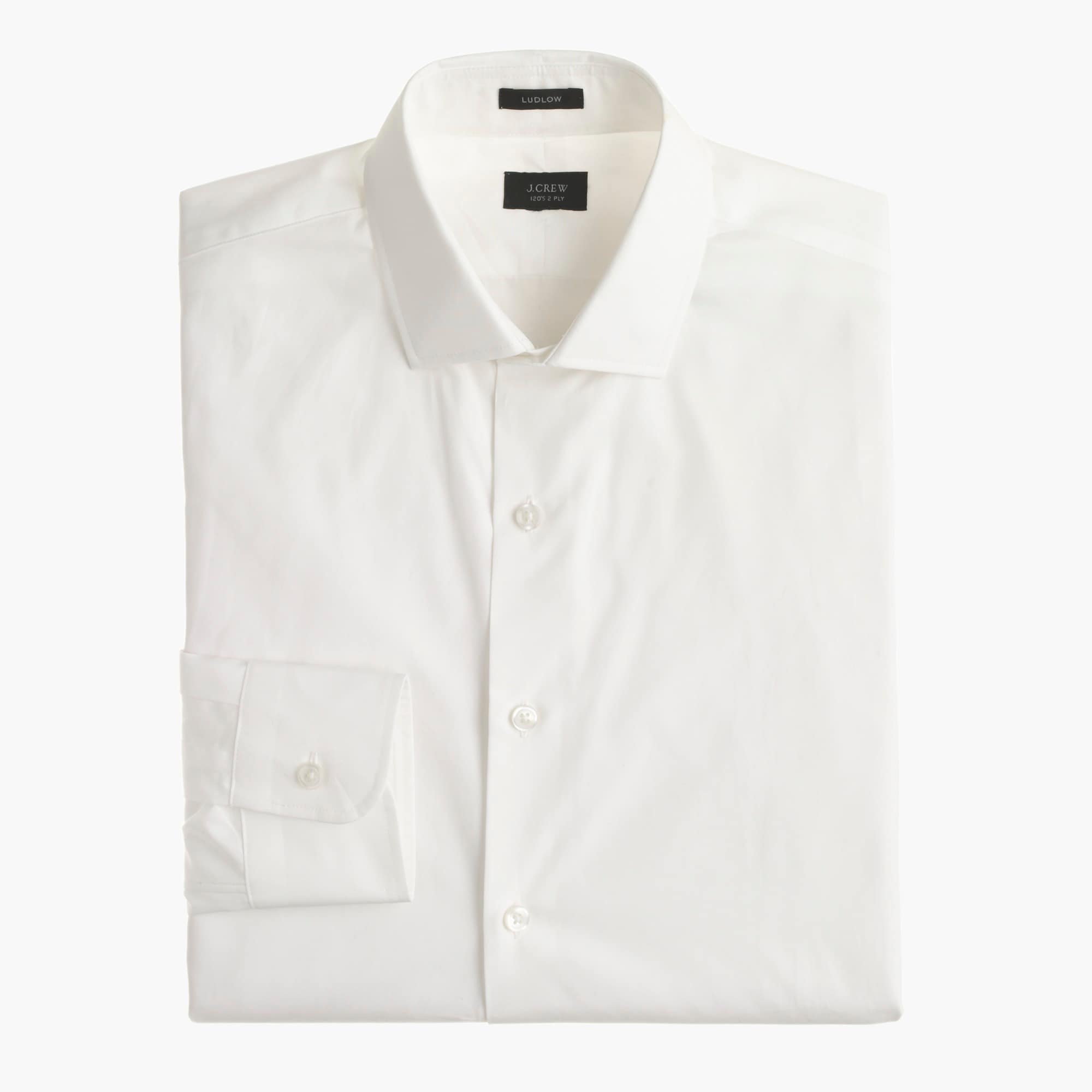 Image 2 for Tall Ludlow spread-collar shirt with convertible cuffs