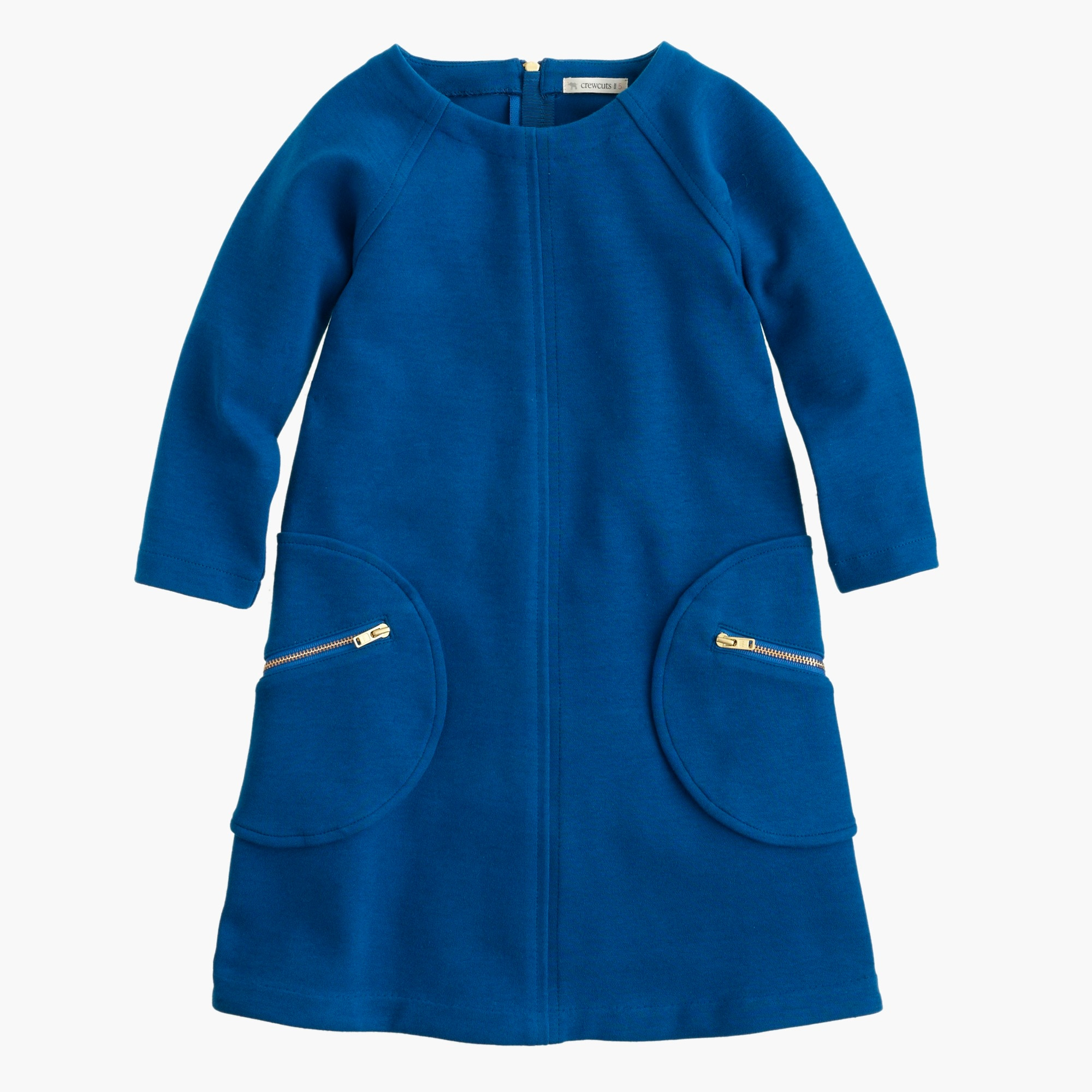 girls' shift dress with zippers : girls' dresses