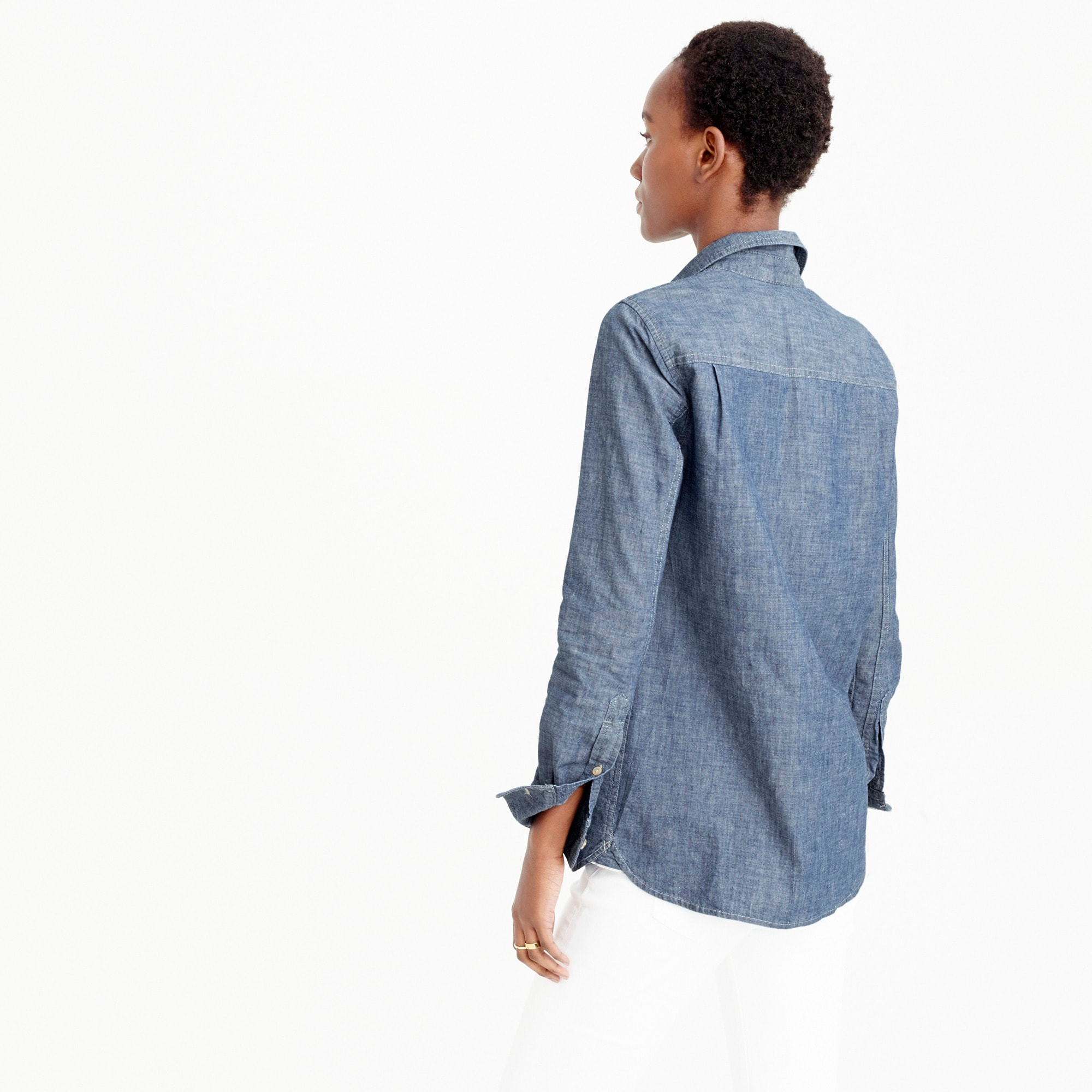 Selvedge chambray shirt
