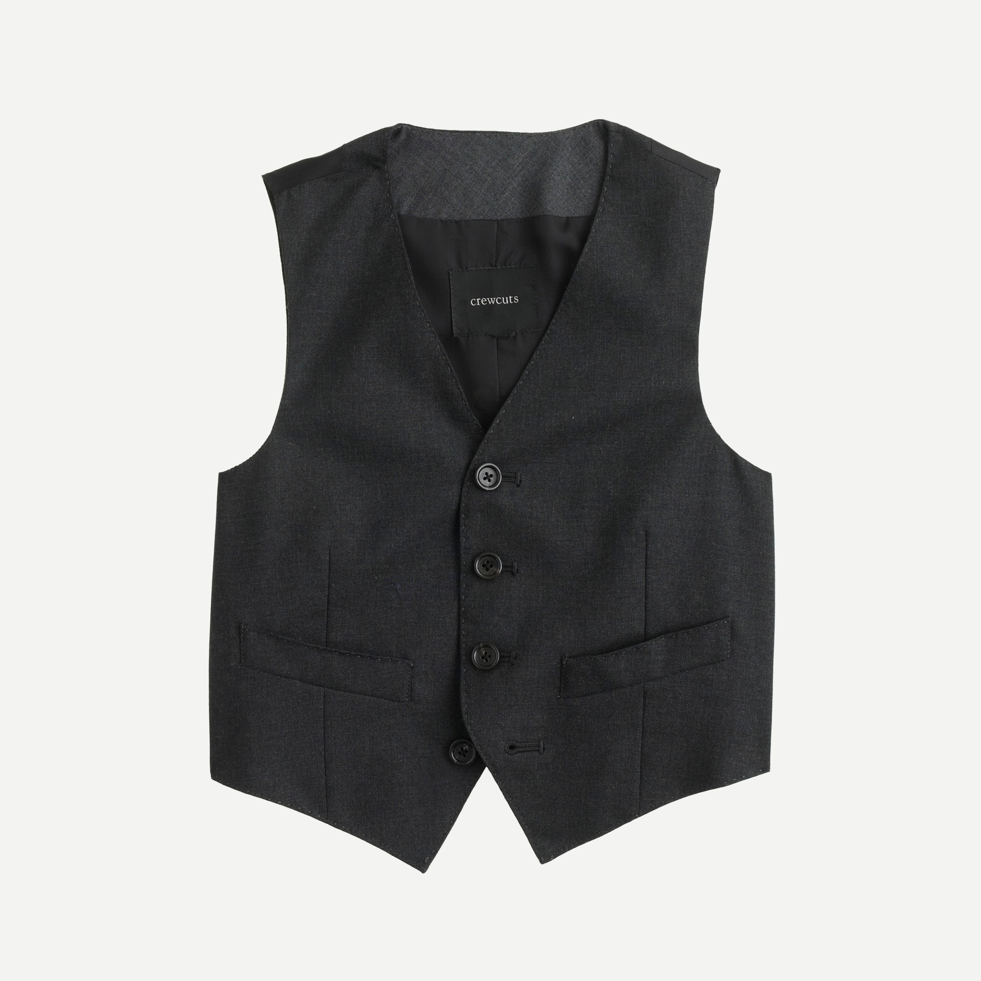 Boys' Ludlow suit vest in Italian wool boy blazers & vests c