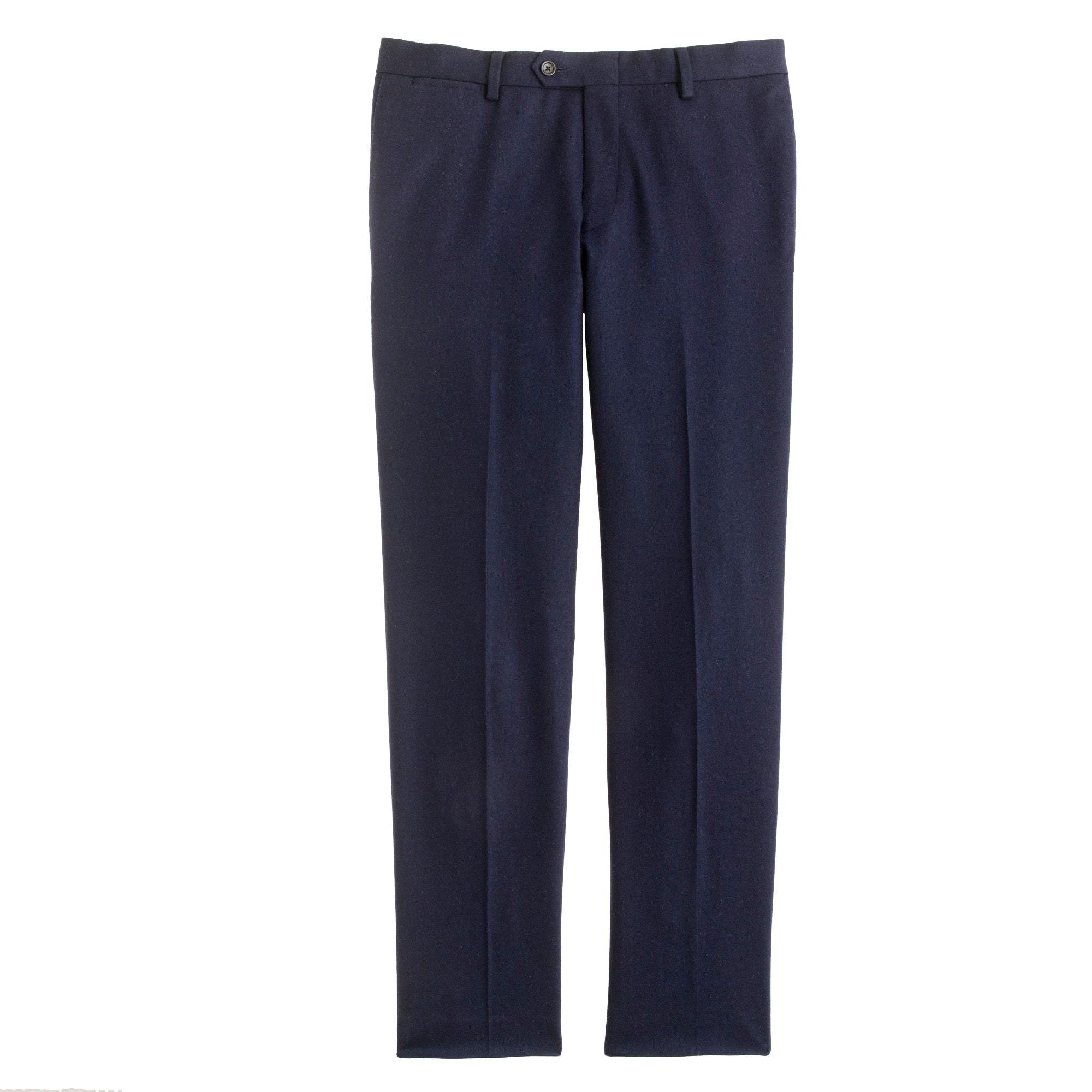 Ludlow Fielding slim suit pant in English wool
