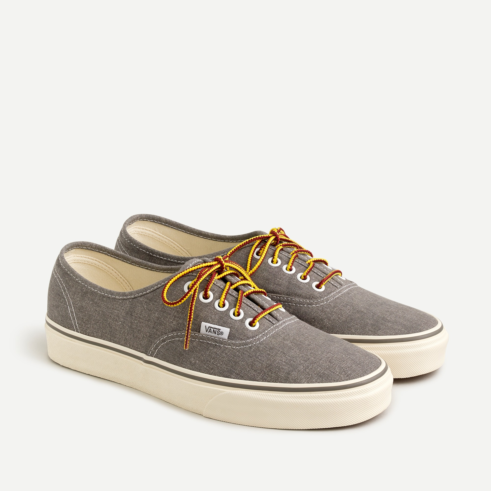 mens Vans® for J.Crew washed canvas authentic sneakers