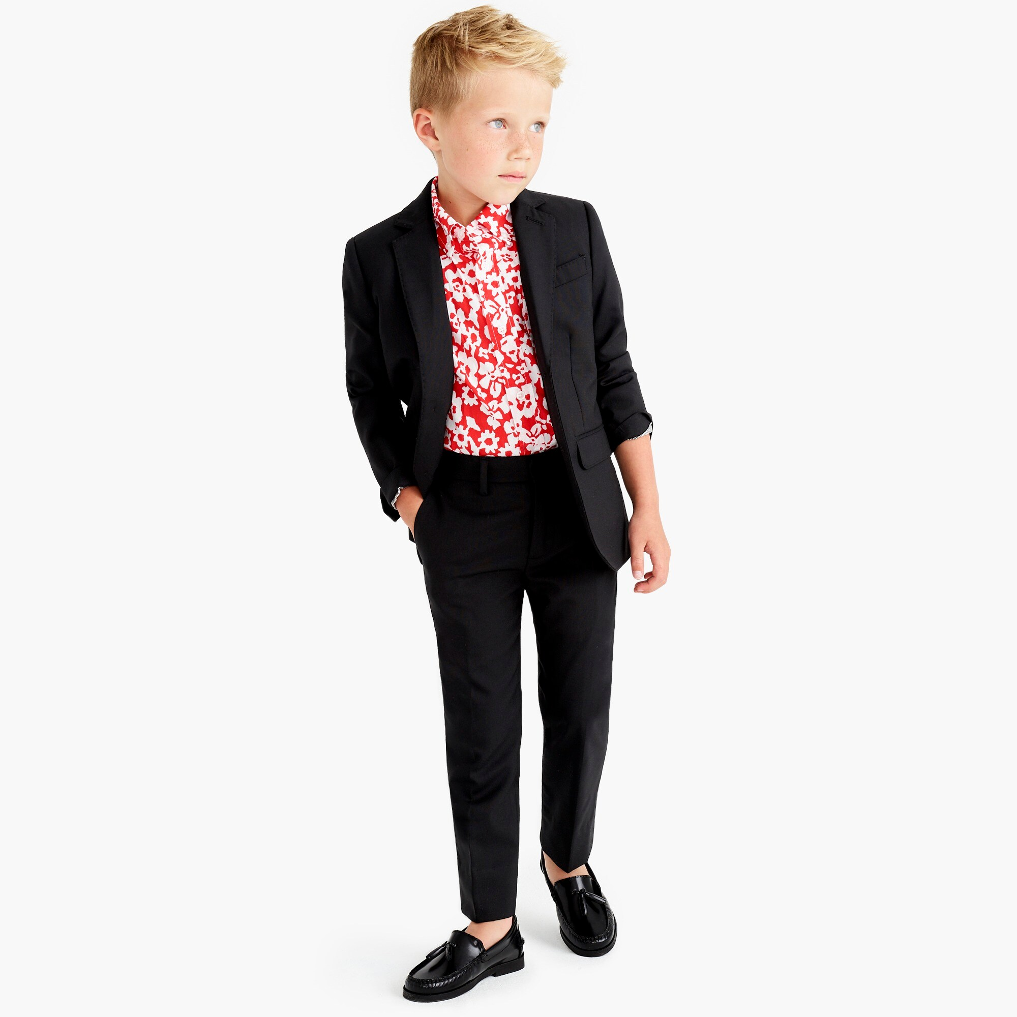 boys' ludlow suit jacket in italian wool - boys' suiting