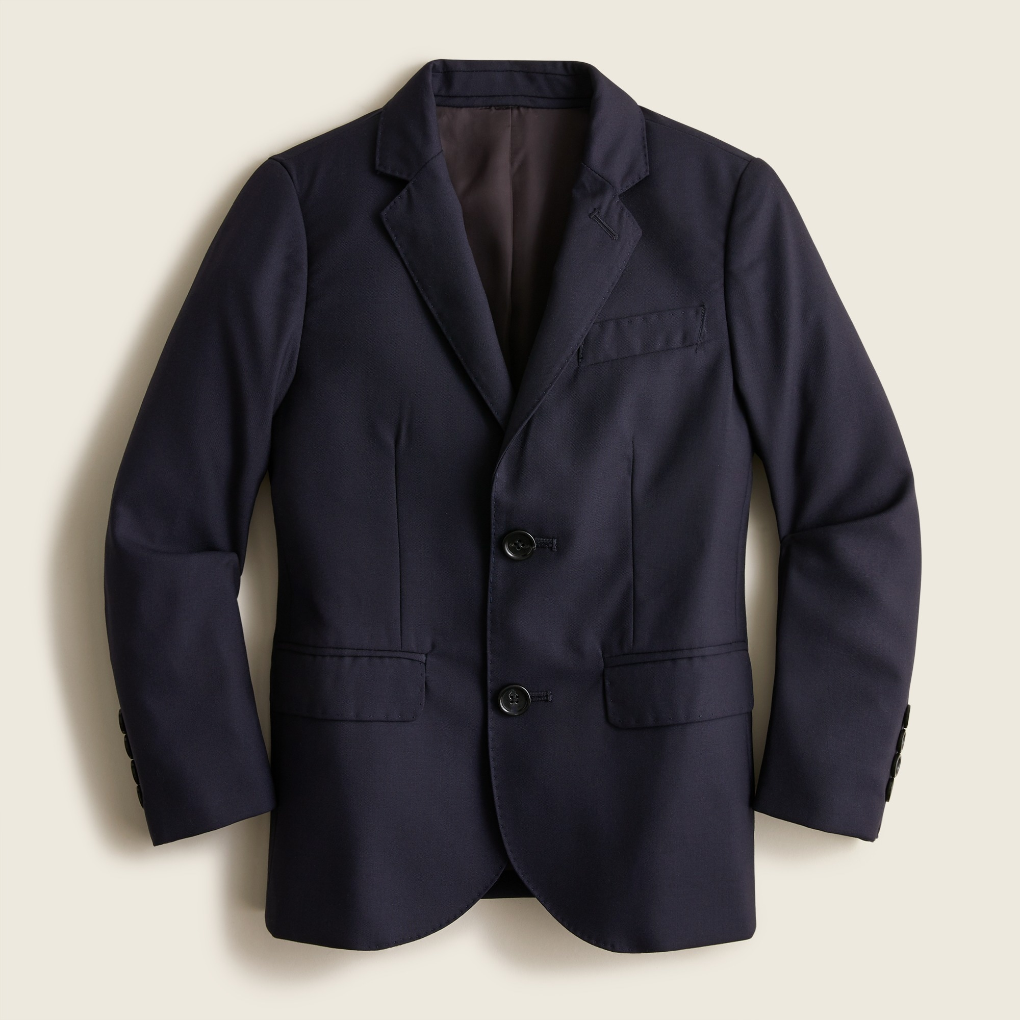 boys' ludlow suit jacket in italian wool : boys' suiting