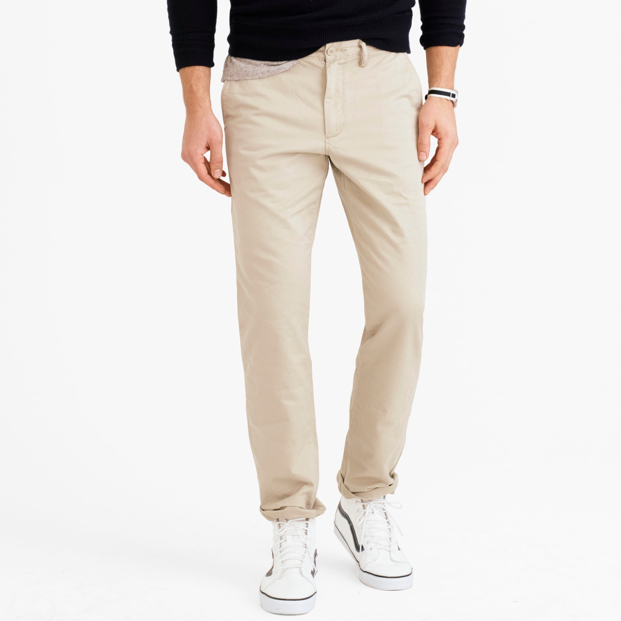 770 Straight-fit pant in Broken-in chino men pants c