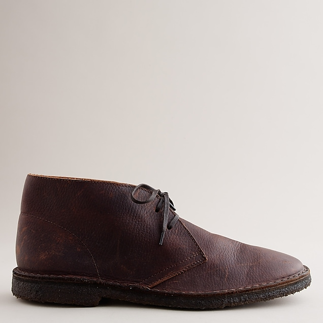 J Crew Classic MacAlister boots in oiled leather