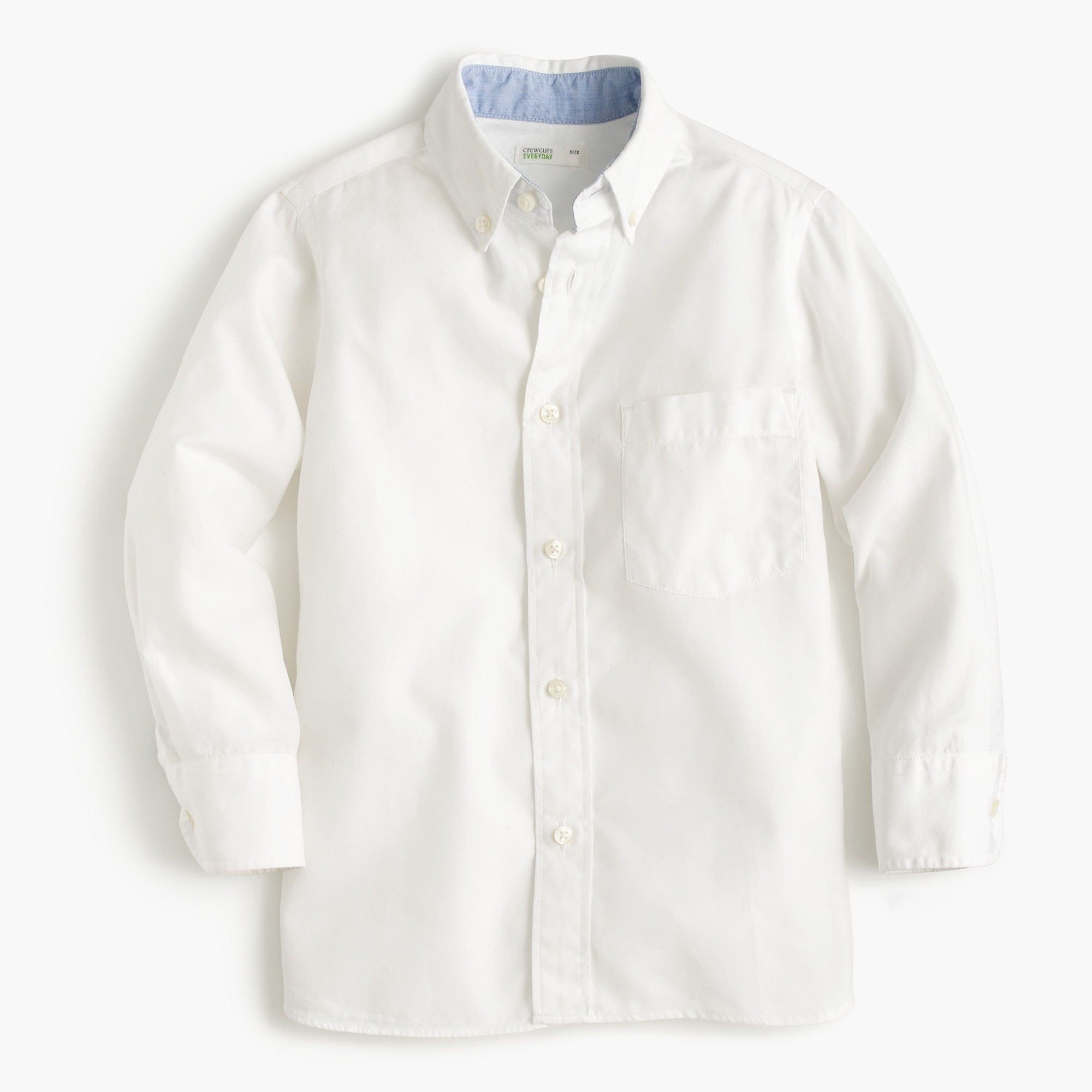 Kids' Secret Wash shirt in cotton poplin boy shirts c