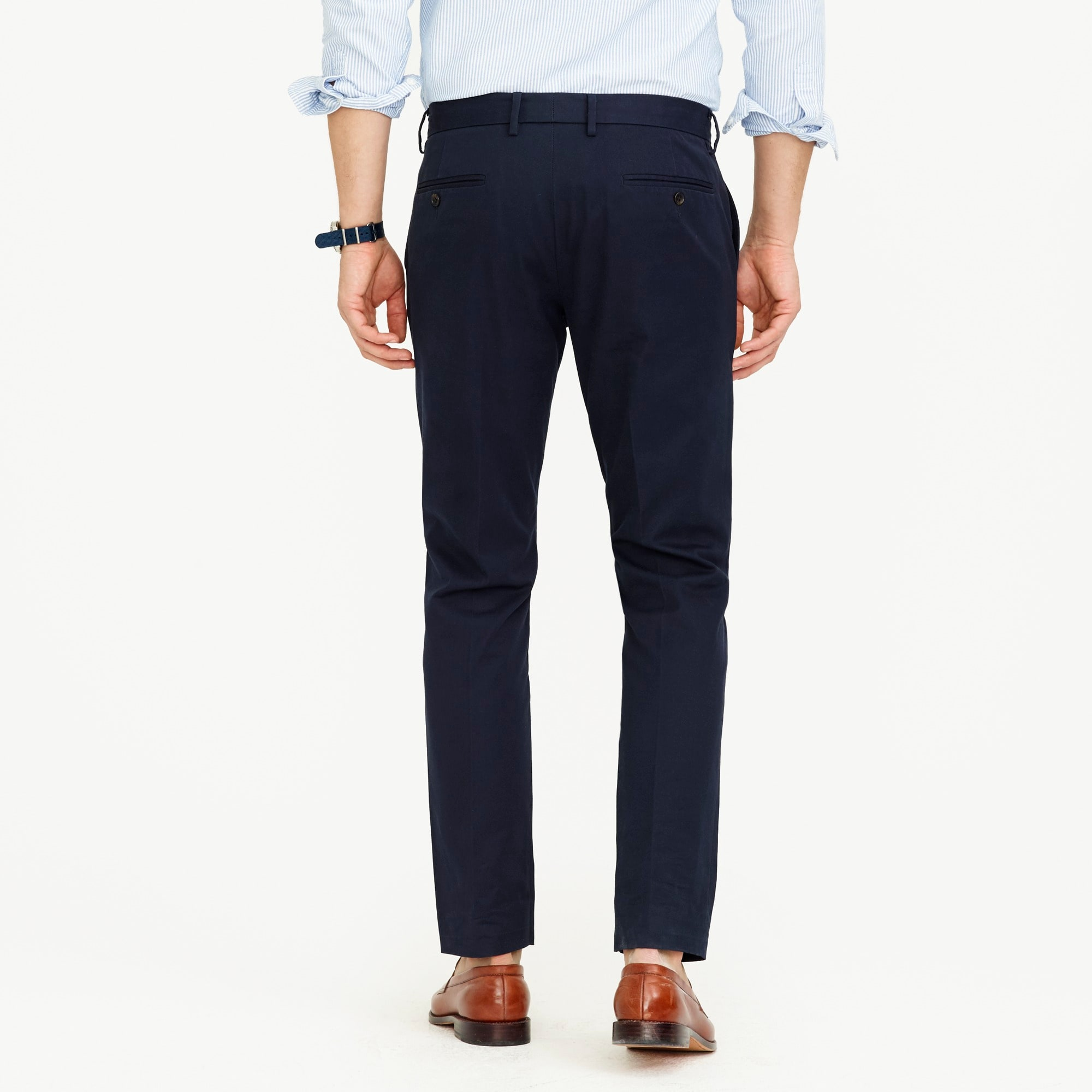 Ludlow Slim-fit pant in cotton twill