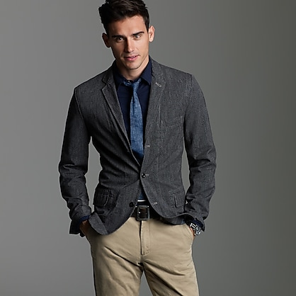 Selvedge cotton twill sportcoat in Ludlow fit : Ludlow sportcoats ...