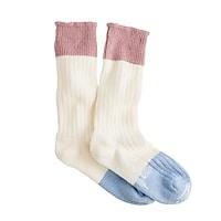 Corgi™ cashmere colorblock socks