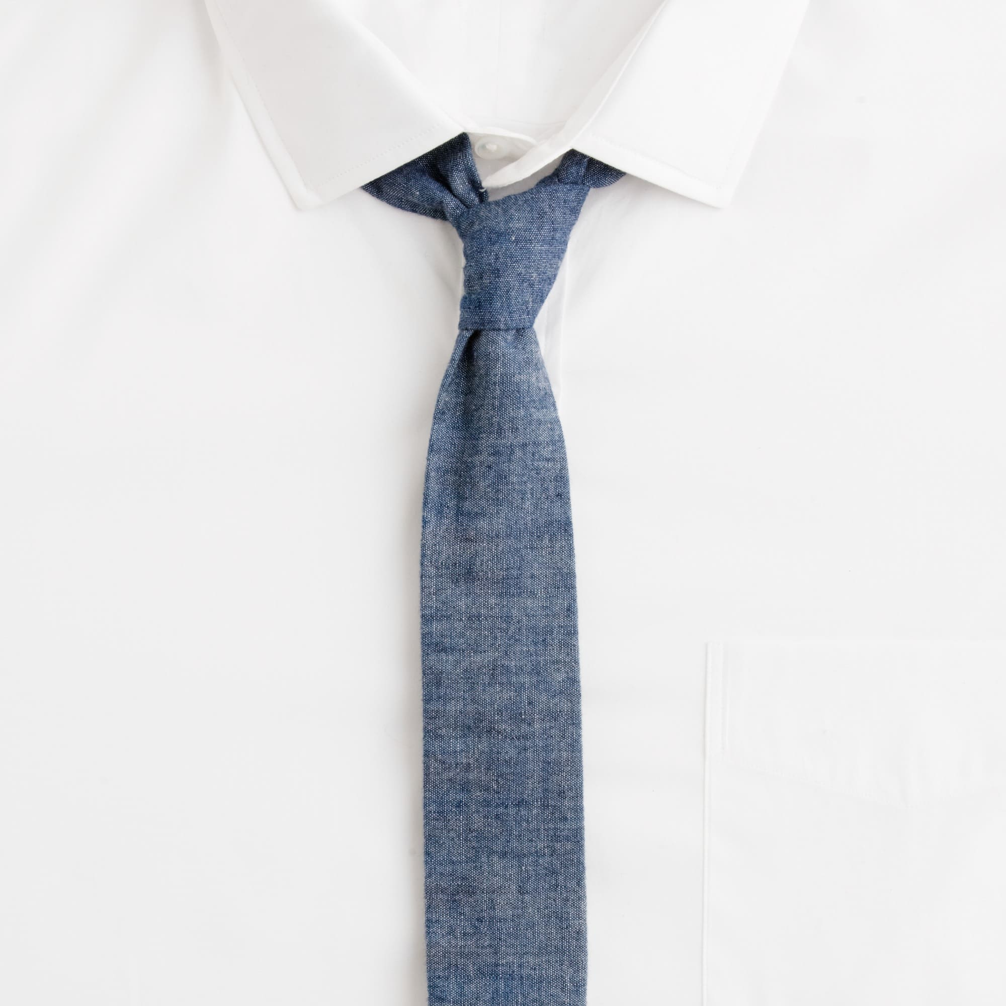 Image 2 for The Hill-side® Japanese selvedge chambray tie
