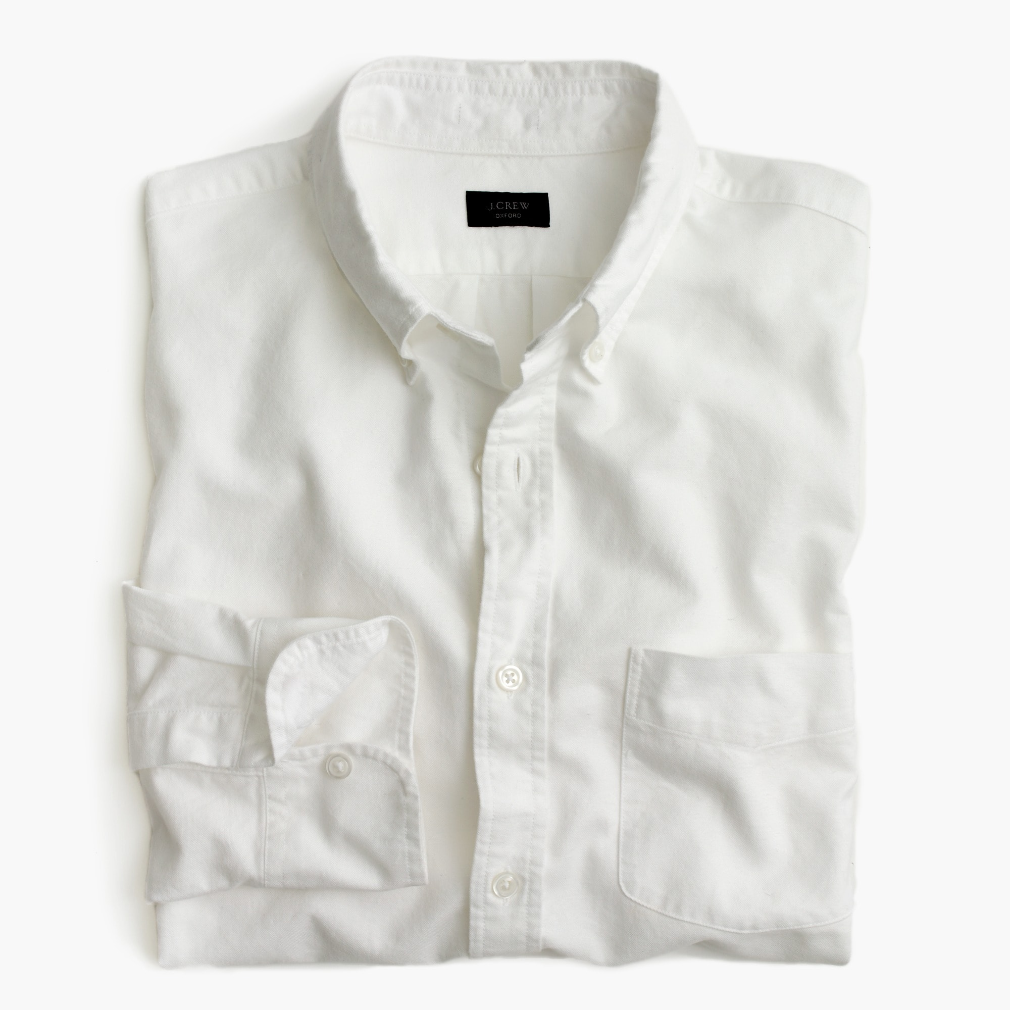 Vintage oxford shirt in white