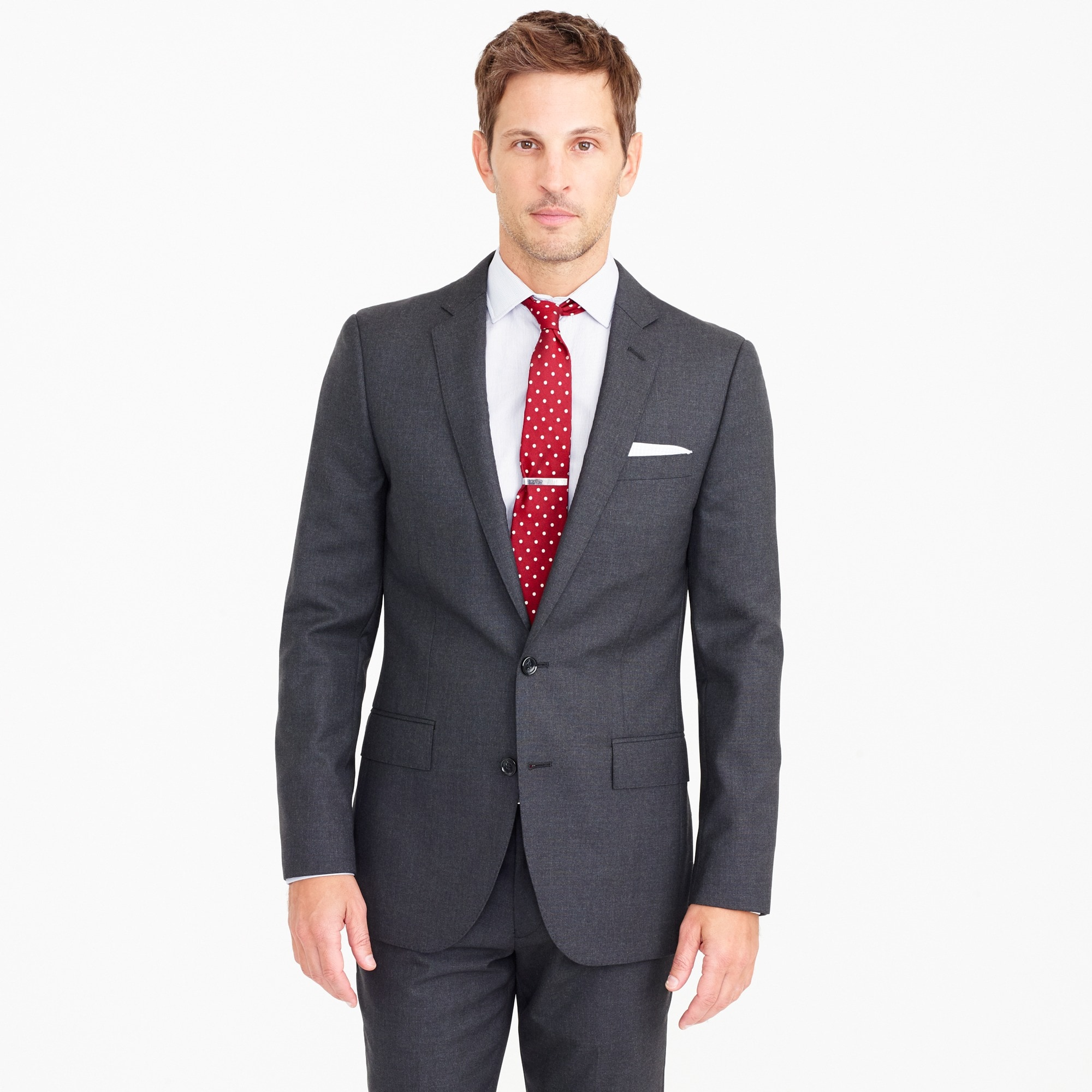 Ludlow suit jacket with double vent in Italian wool men j.crew in good company c
