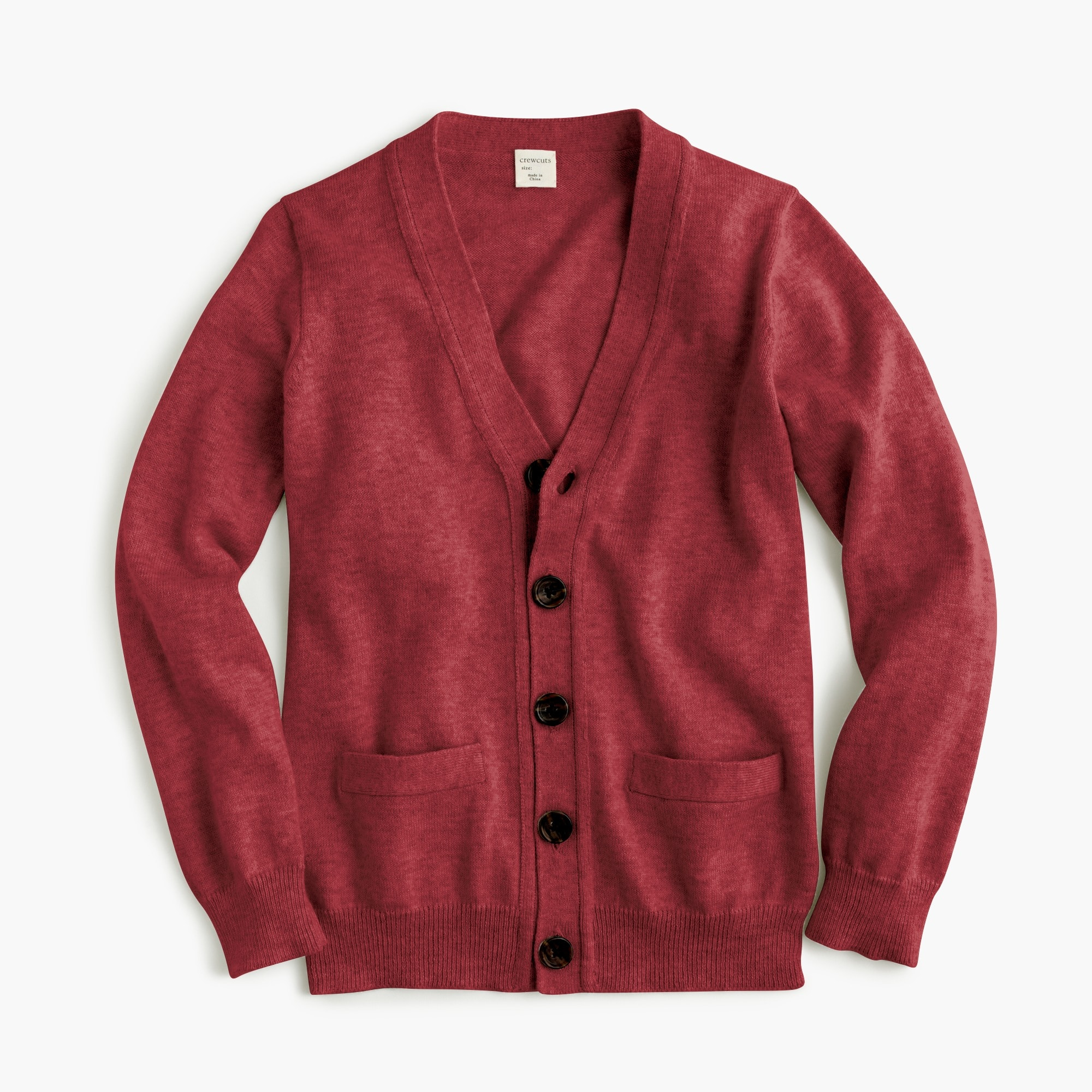 boys' cotton-cashmere cardigan sweater - boys' tops
