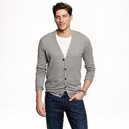 Mens Cotton Cashmere Cardigan Sweater Mens Sweaters Jcrew