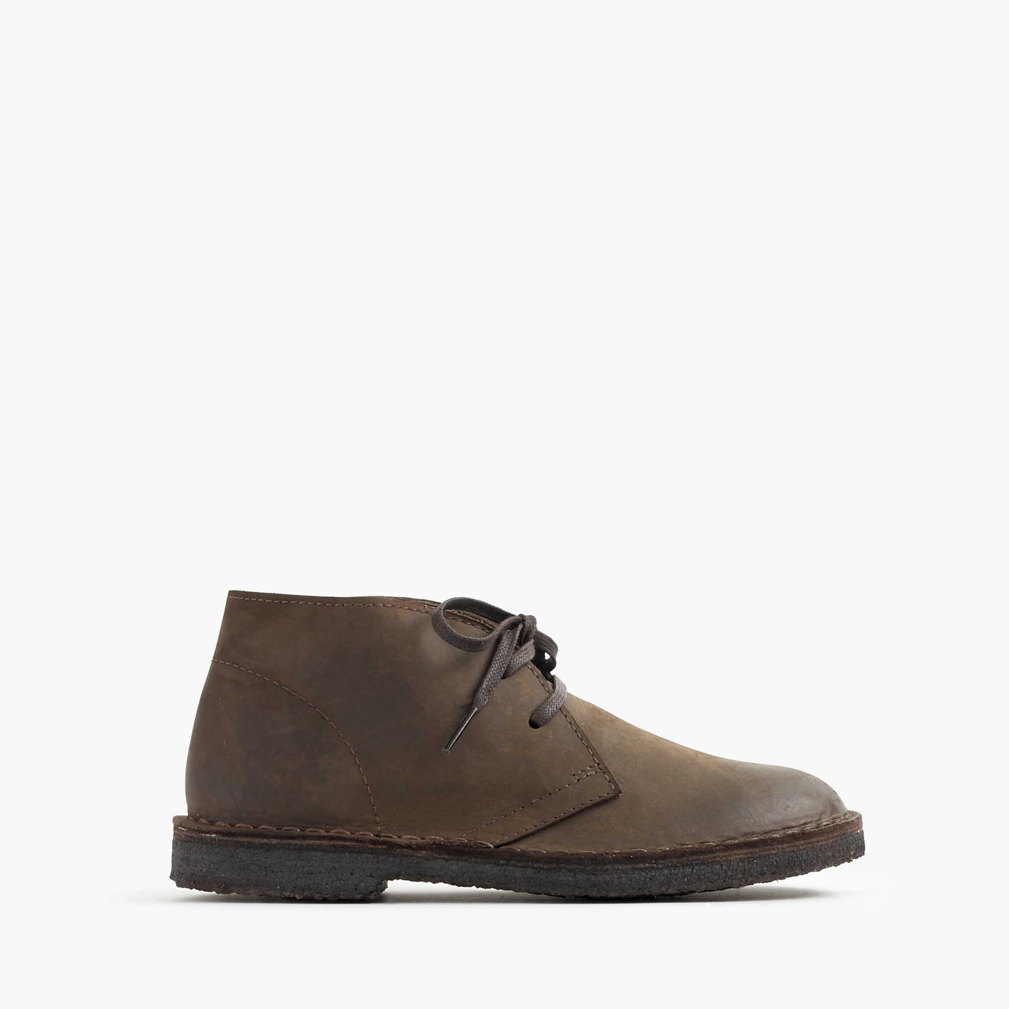 kids' oiled-leather macalister boots : boys' shoes