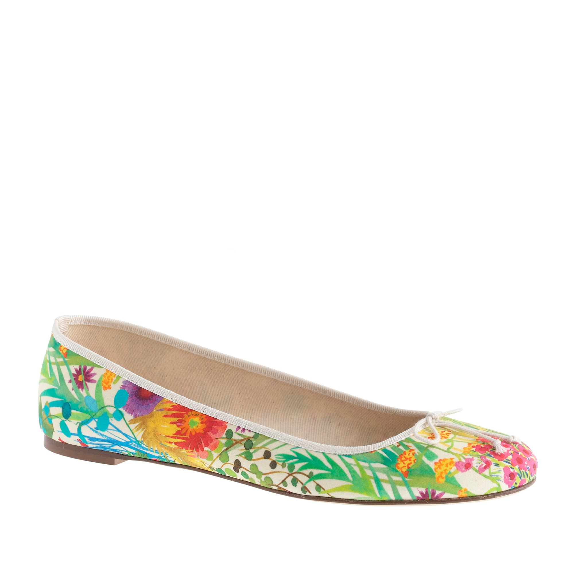 collection classic liberty floral ballet flats : women flats