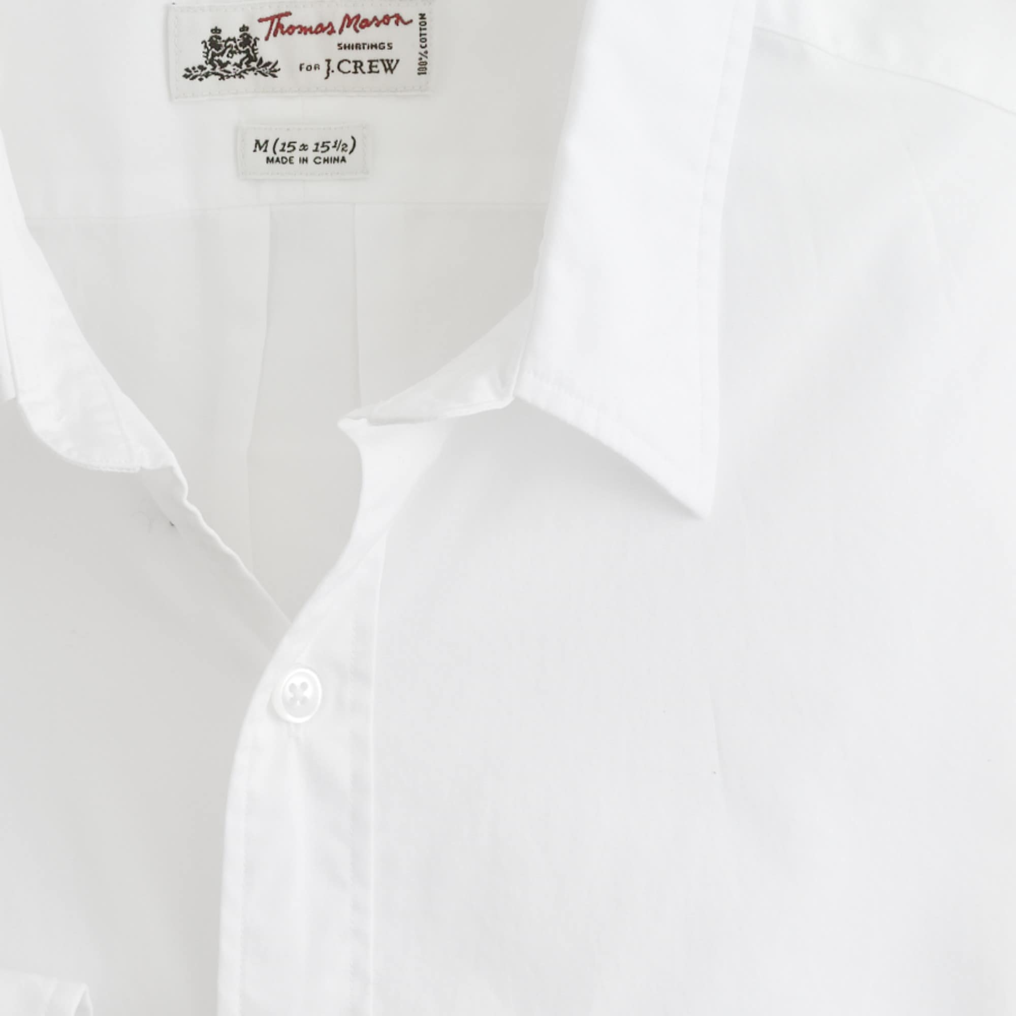Thomas Mason® for J.Crew Ludlow Slim-fit shirt