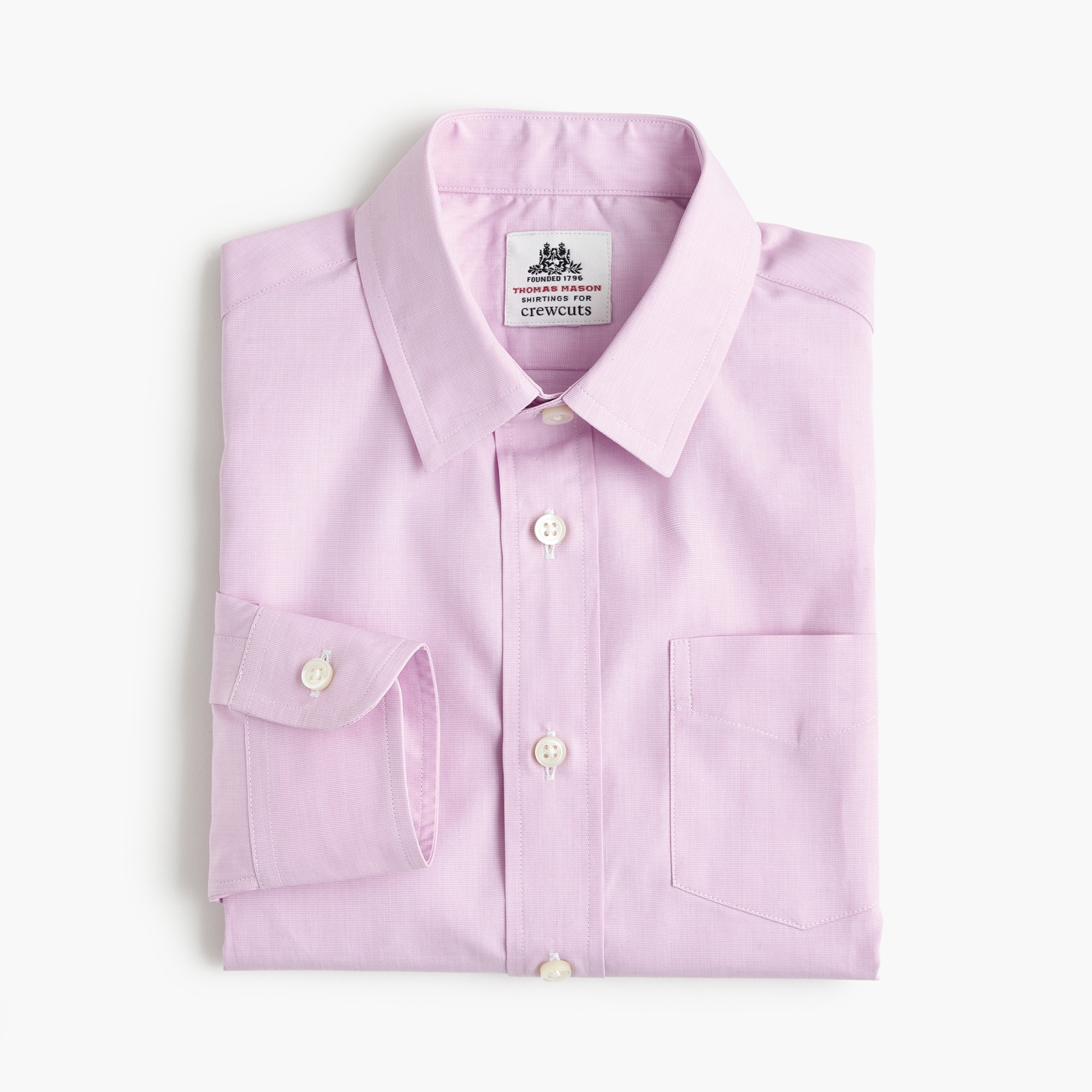 Boys' Thomas Mason® for crewcuts Ludlow shirt boy j.crew in good company c