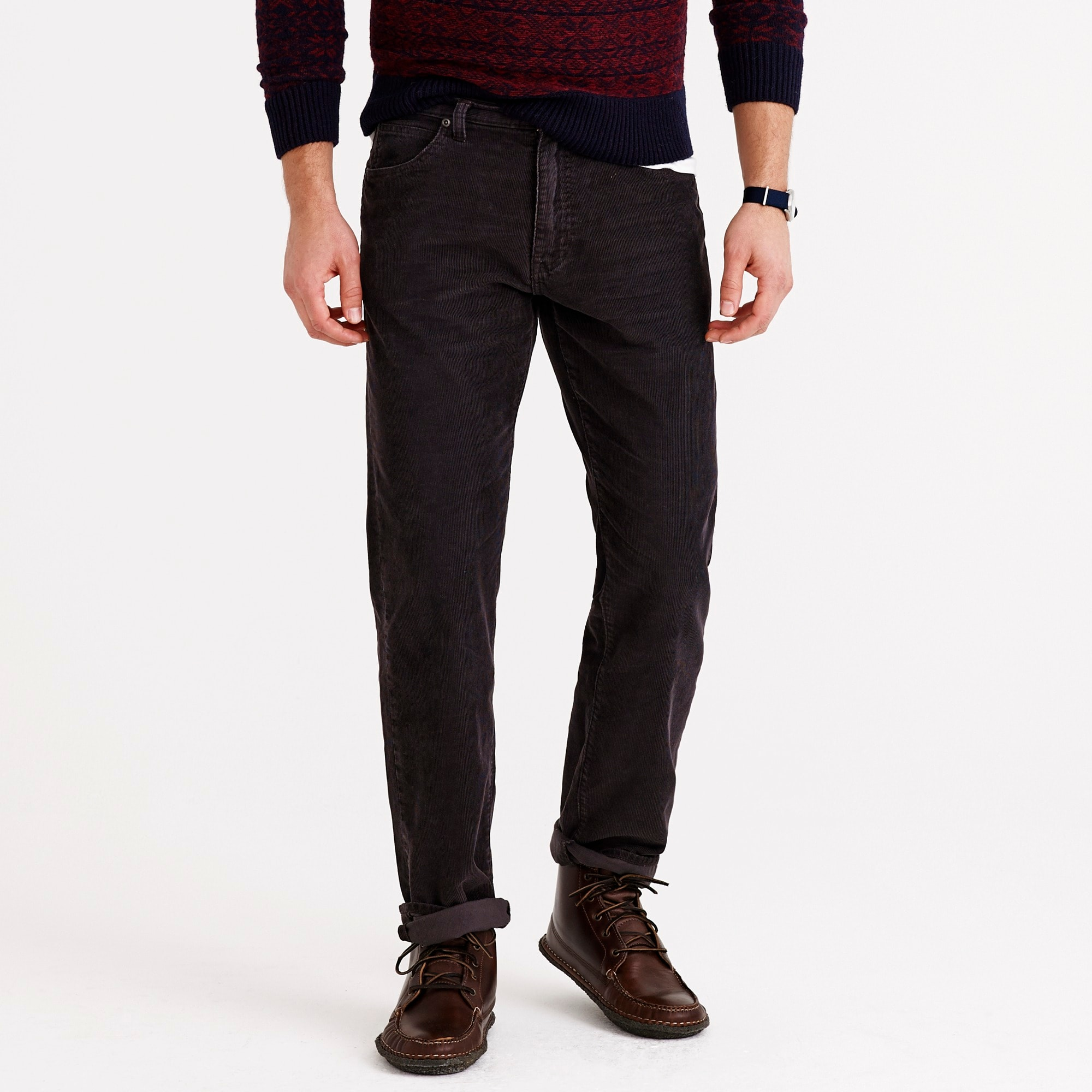 vintage cord in straight fit : men straight