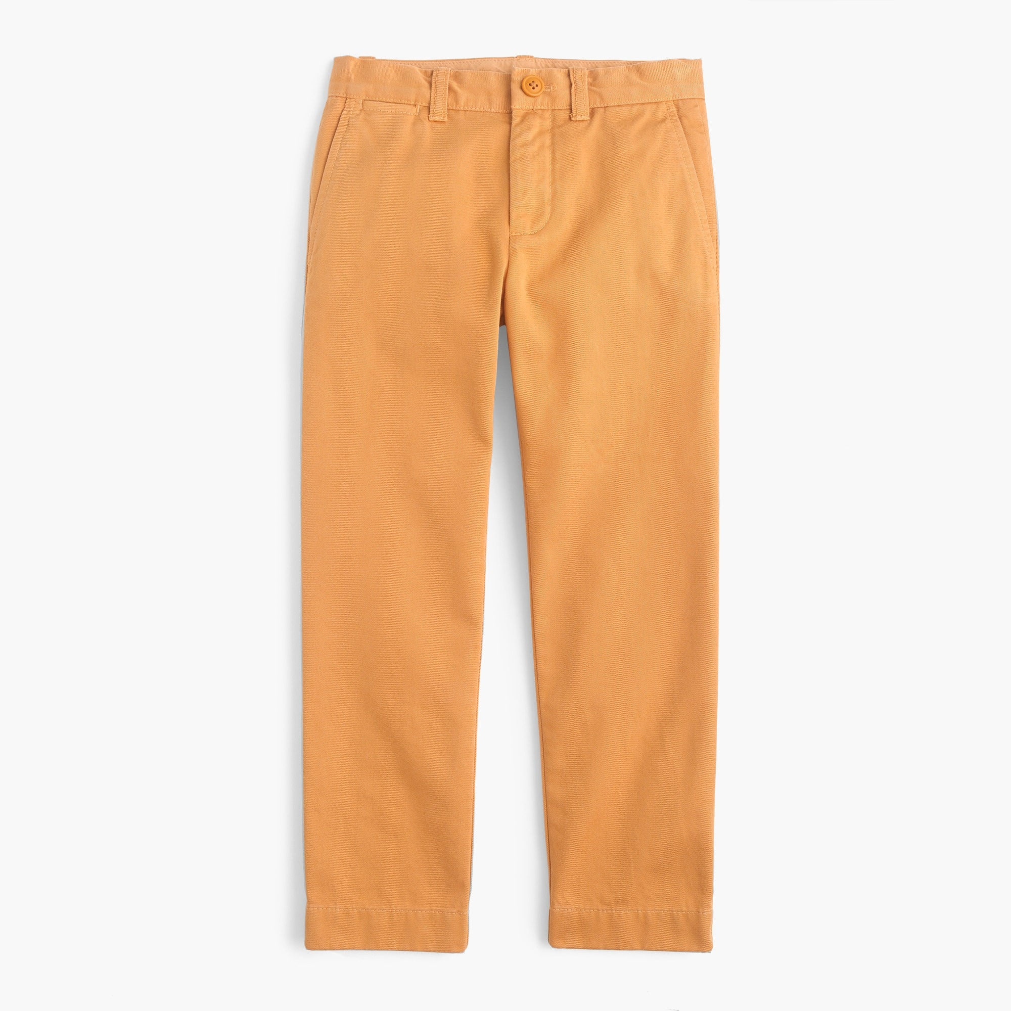 boys' garment-dyed chino in slim fit : boys' chino pants