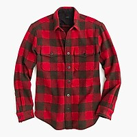 Buffalo check CPO shirt-jacket