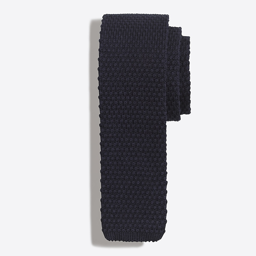 j.crew factory: knit tie for men, right side, view zoomed