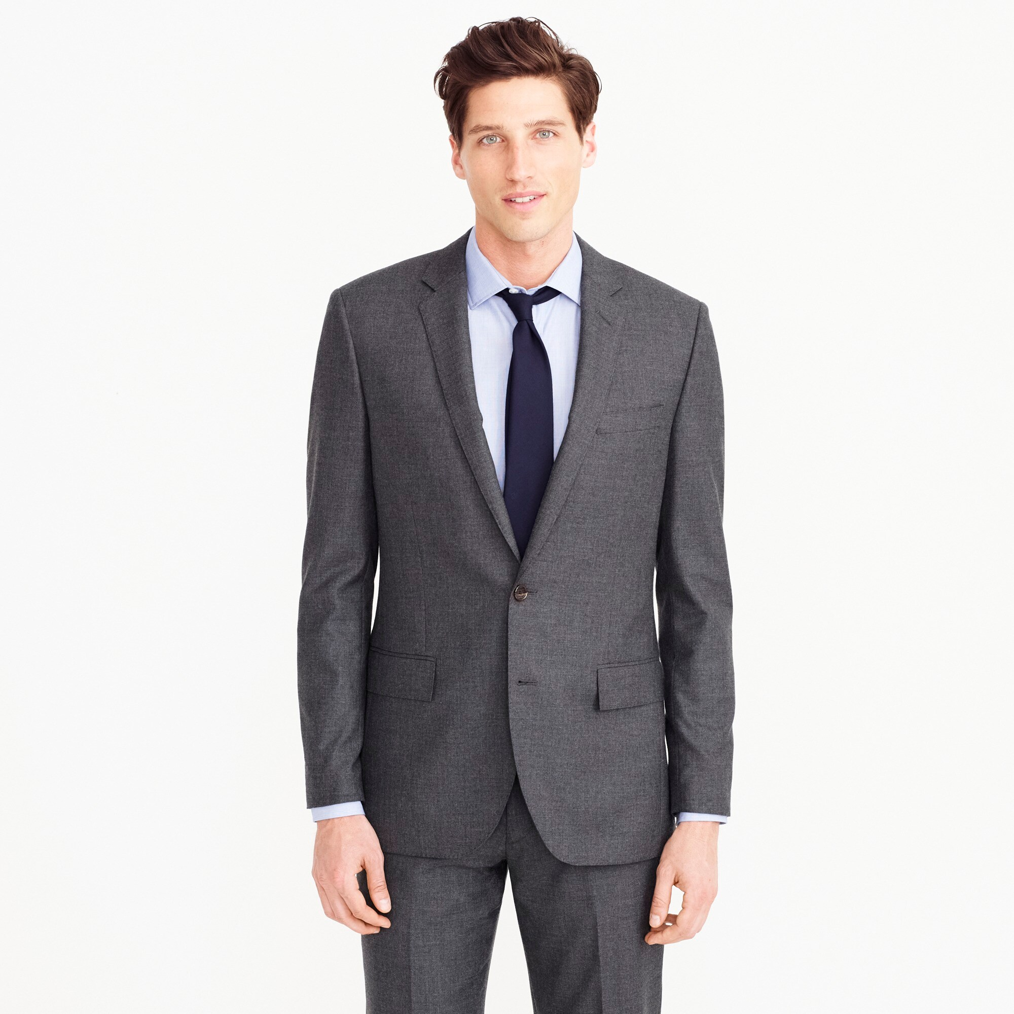 mens Ludlow Slim-fit suit jacket in Italian cashmere