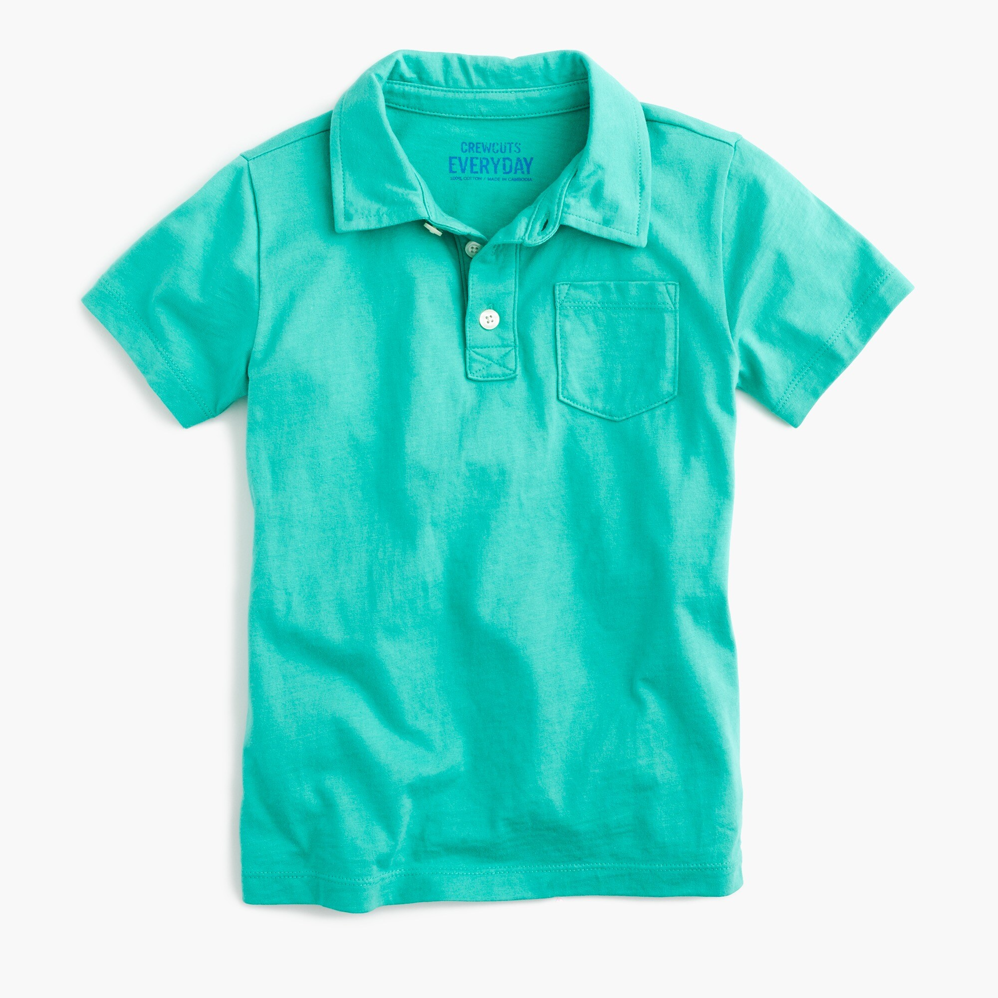 boys' jersey polo shirt - boys' knits