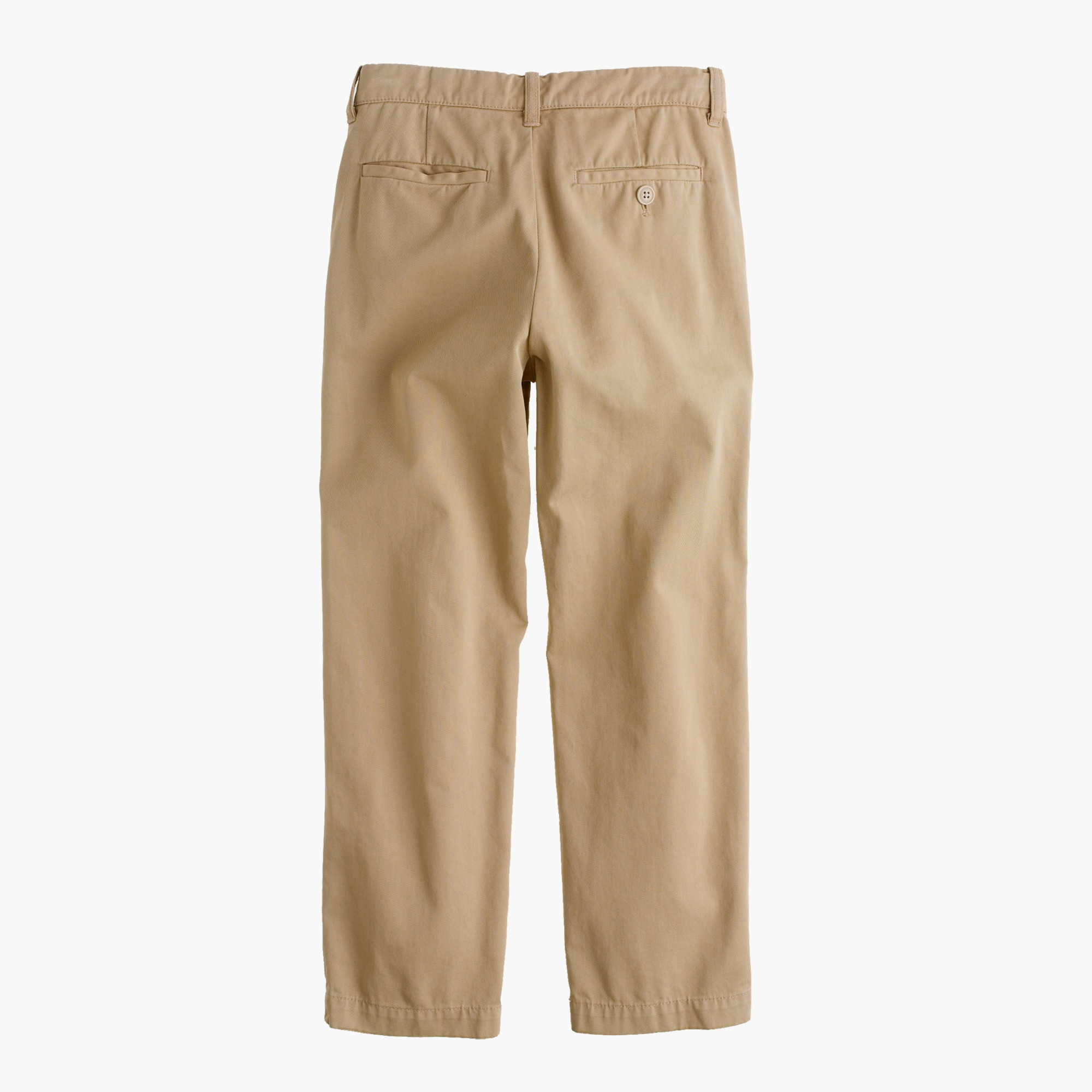Image 2 for Boys' garment-dyed chino pant in straight fit