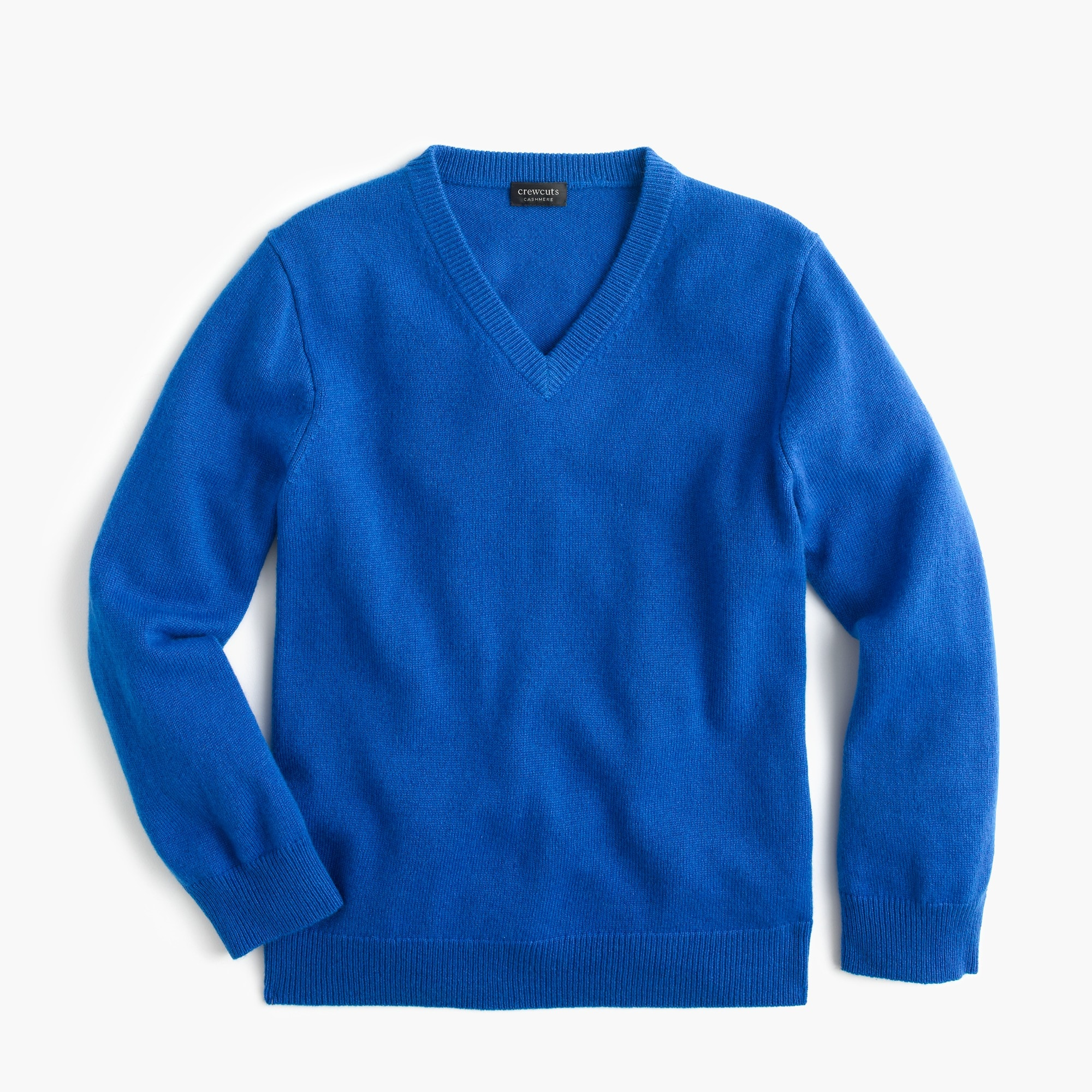 Image 1 for Kids' cashmere V-neck sweater