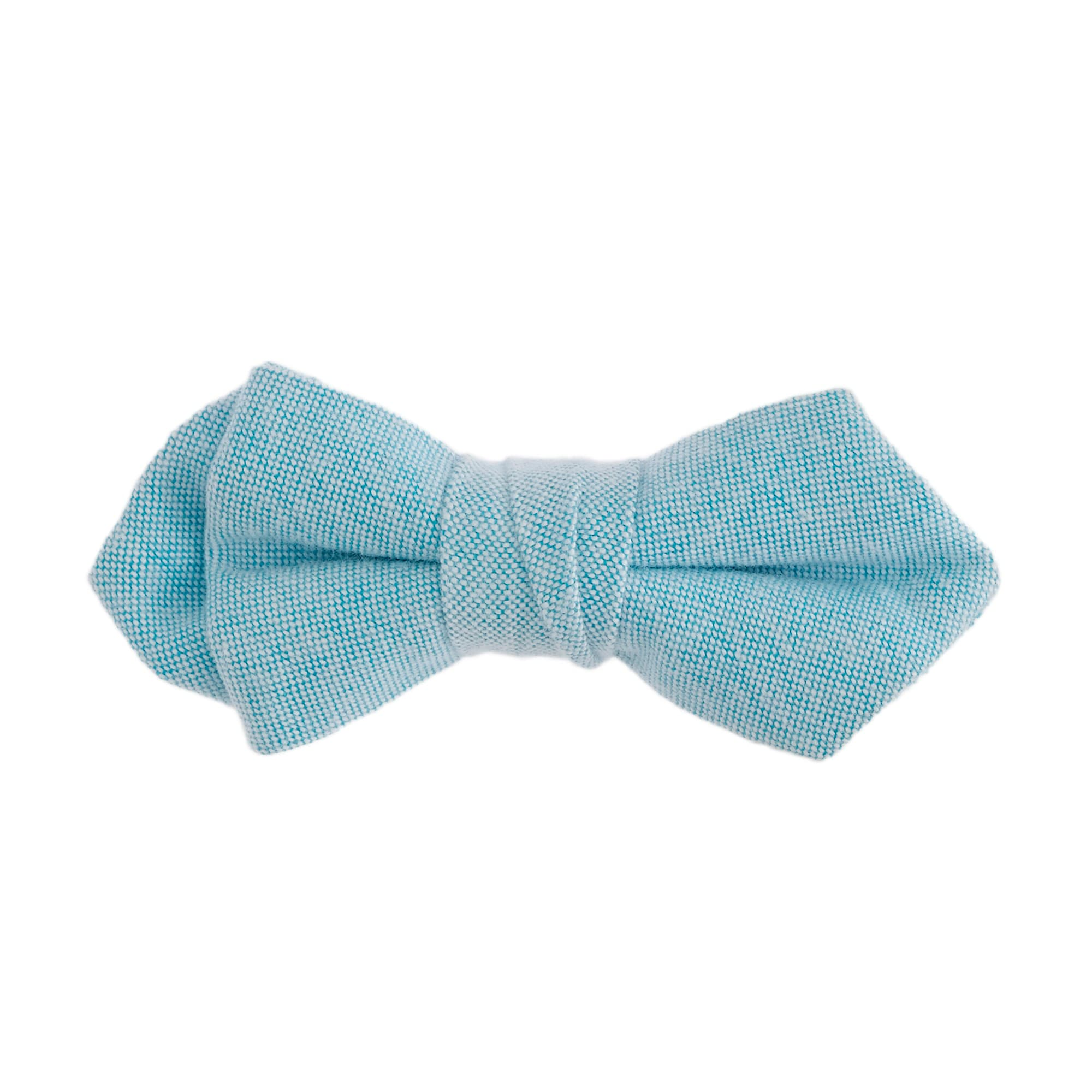 Boys' bow tie in cotton oxford