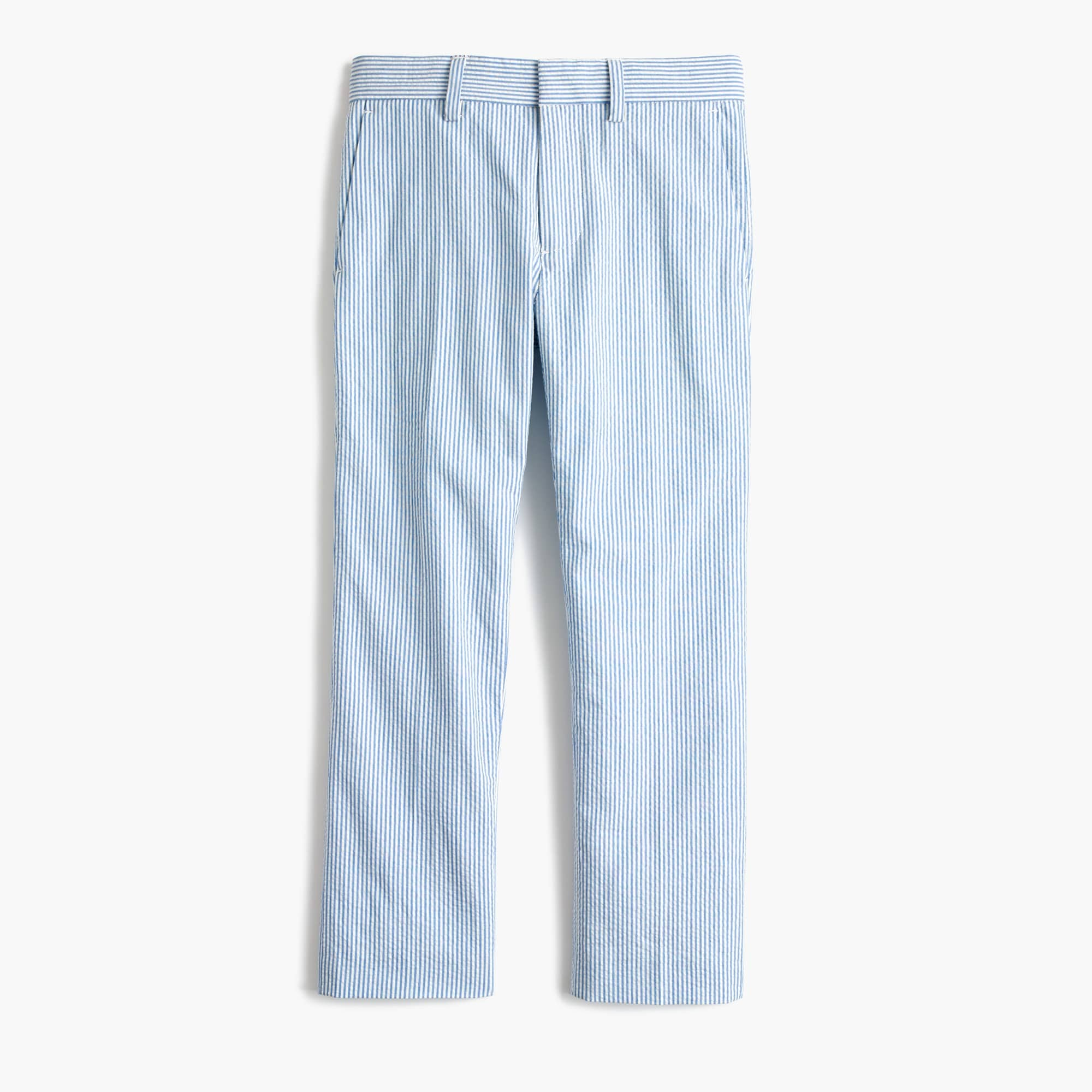 boys' ludlow slim suit pant in seersucker : boy seersucker