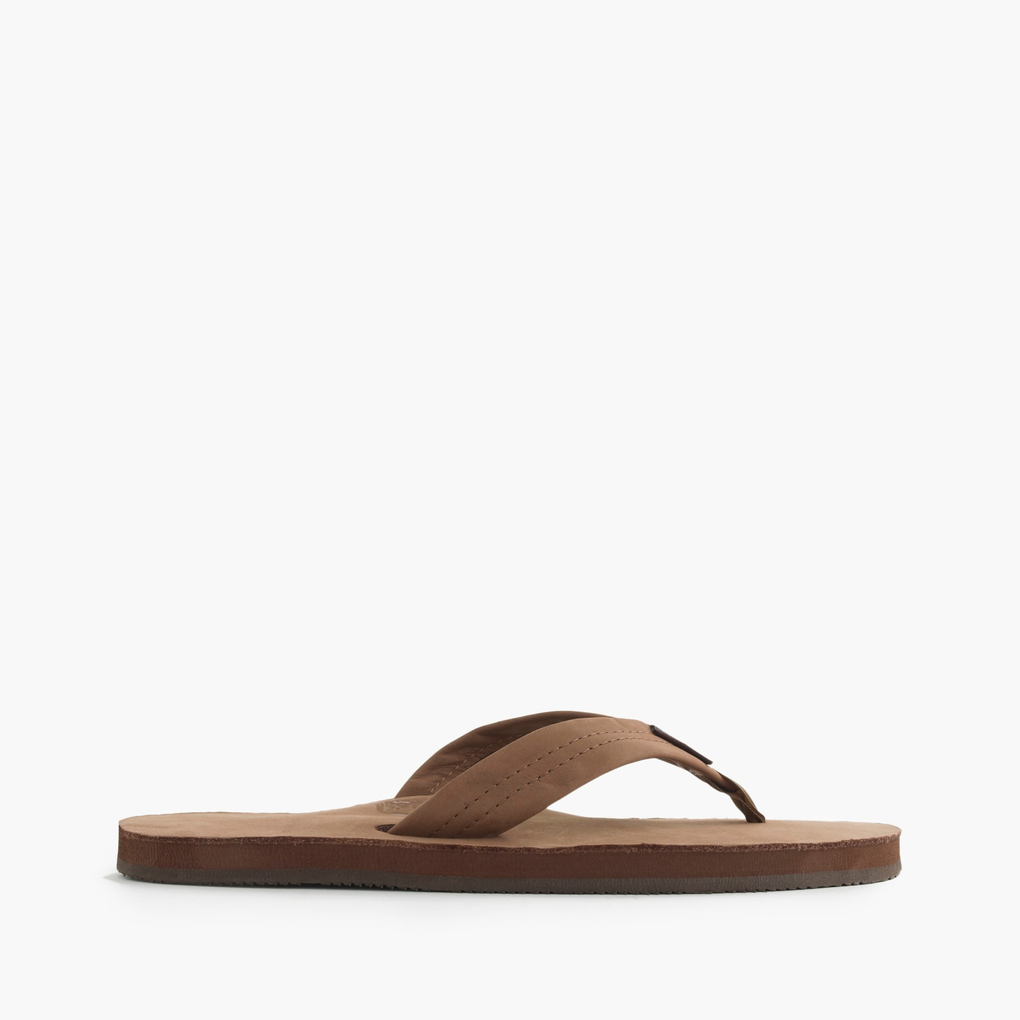 mens Rainbow® leather flip-flops