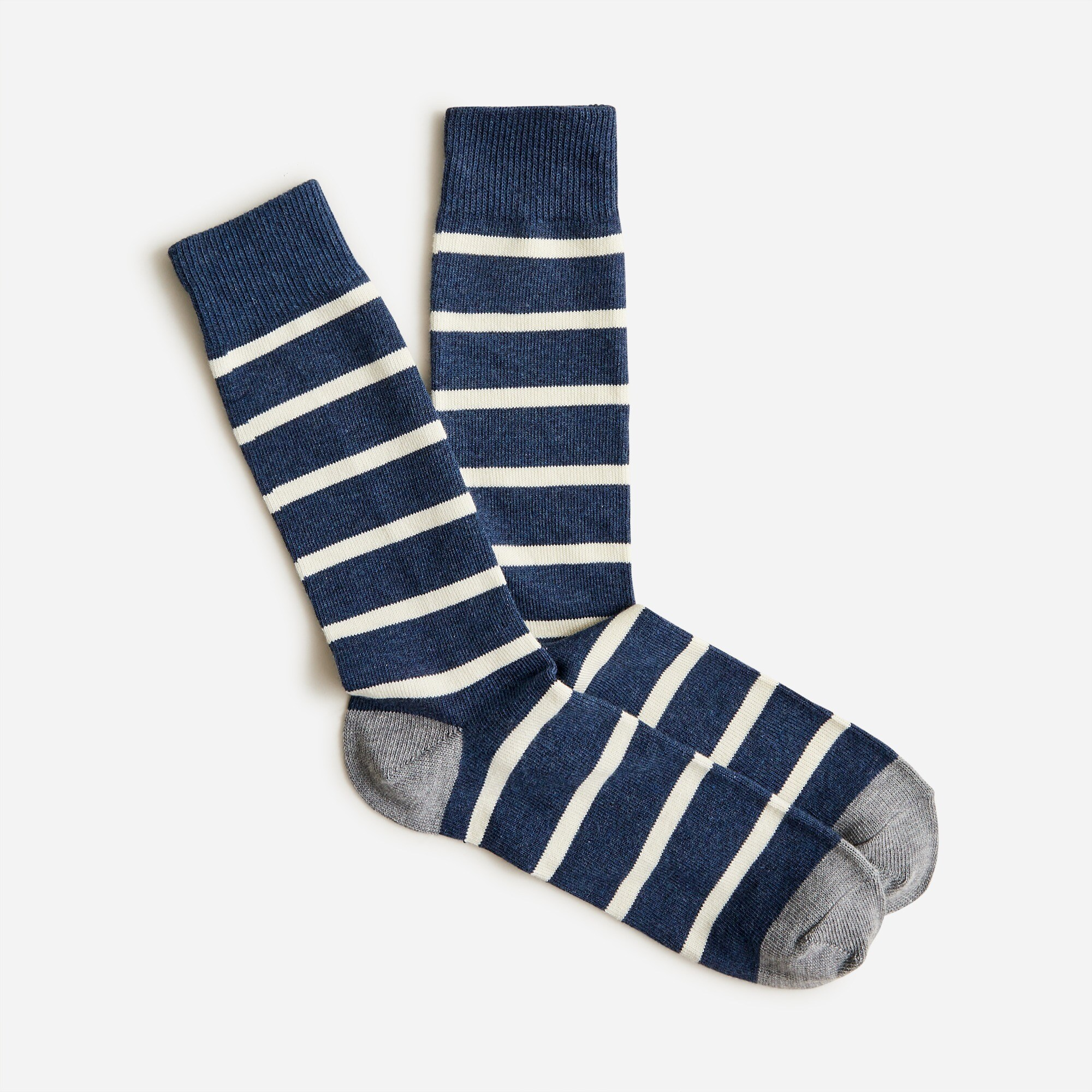 mens Naval-striped socks