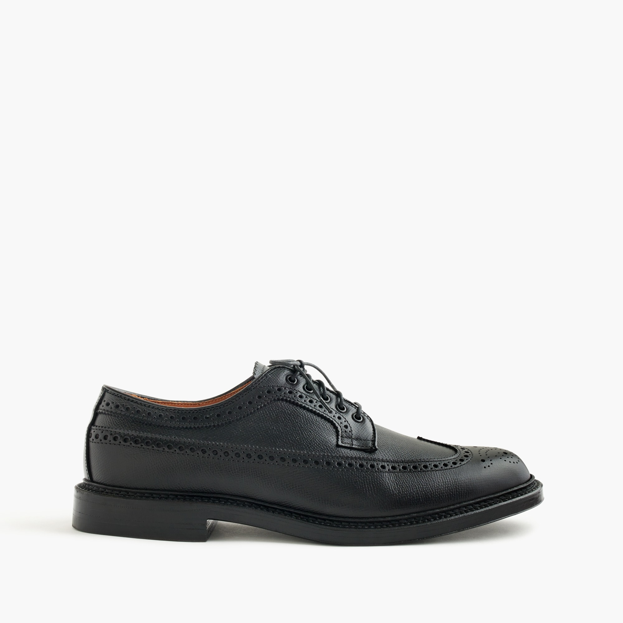 men's alden® for j.crew alpine longwing bluchers - men's footwear