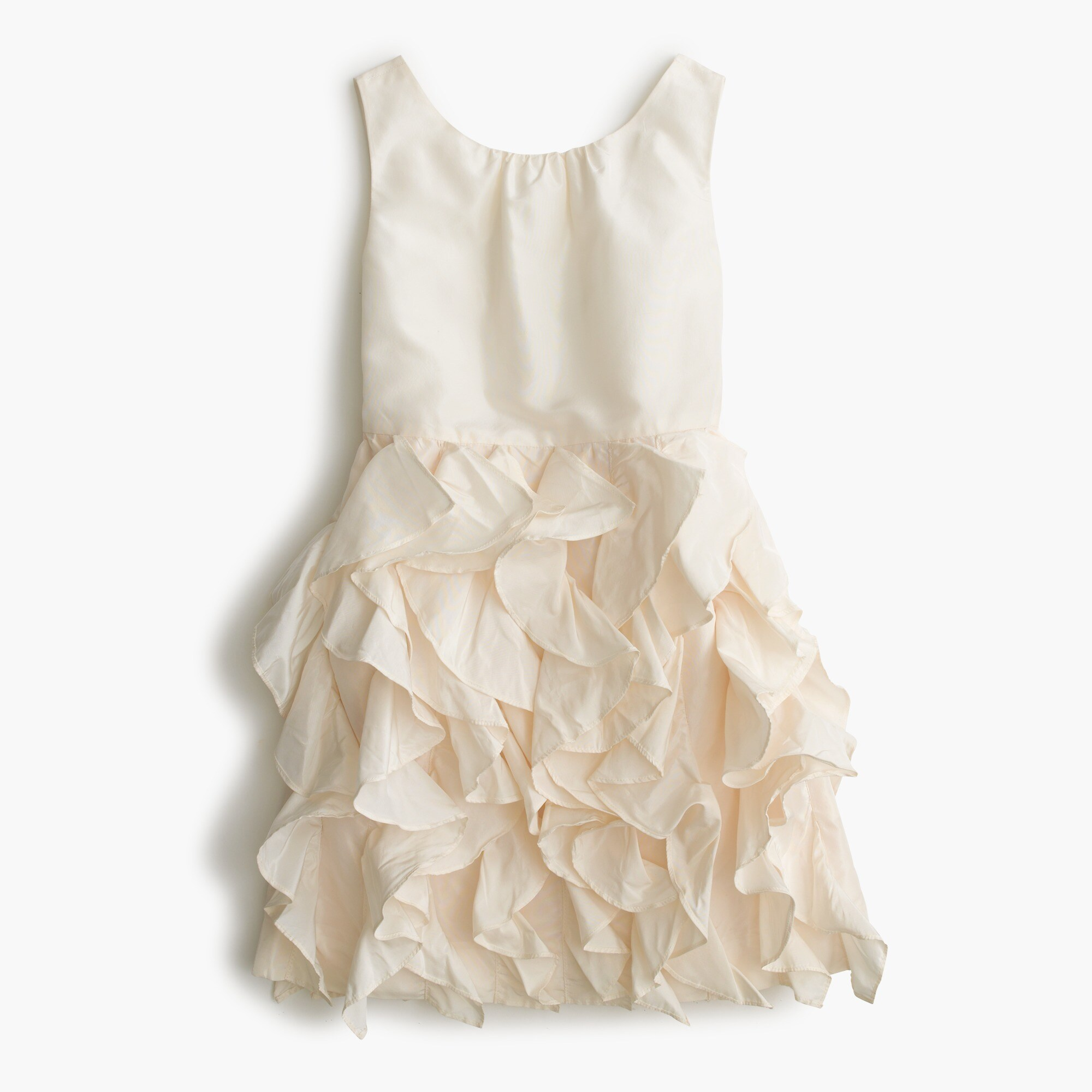 Girls' Lyla dress in silk taffeta girl dresses c