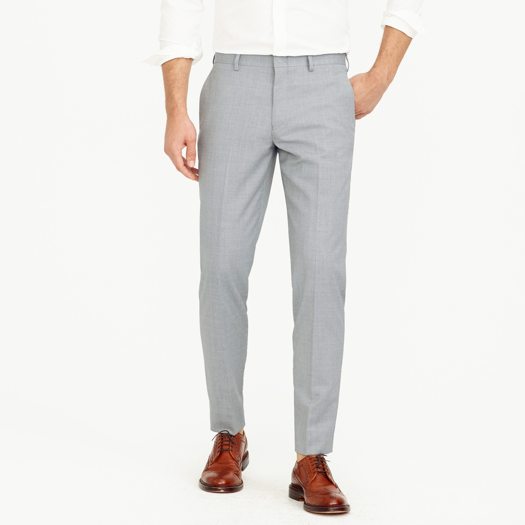 mens Ludlow suit pant in Italian wool