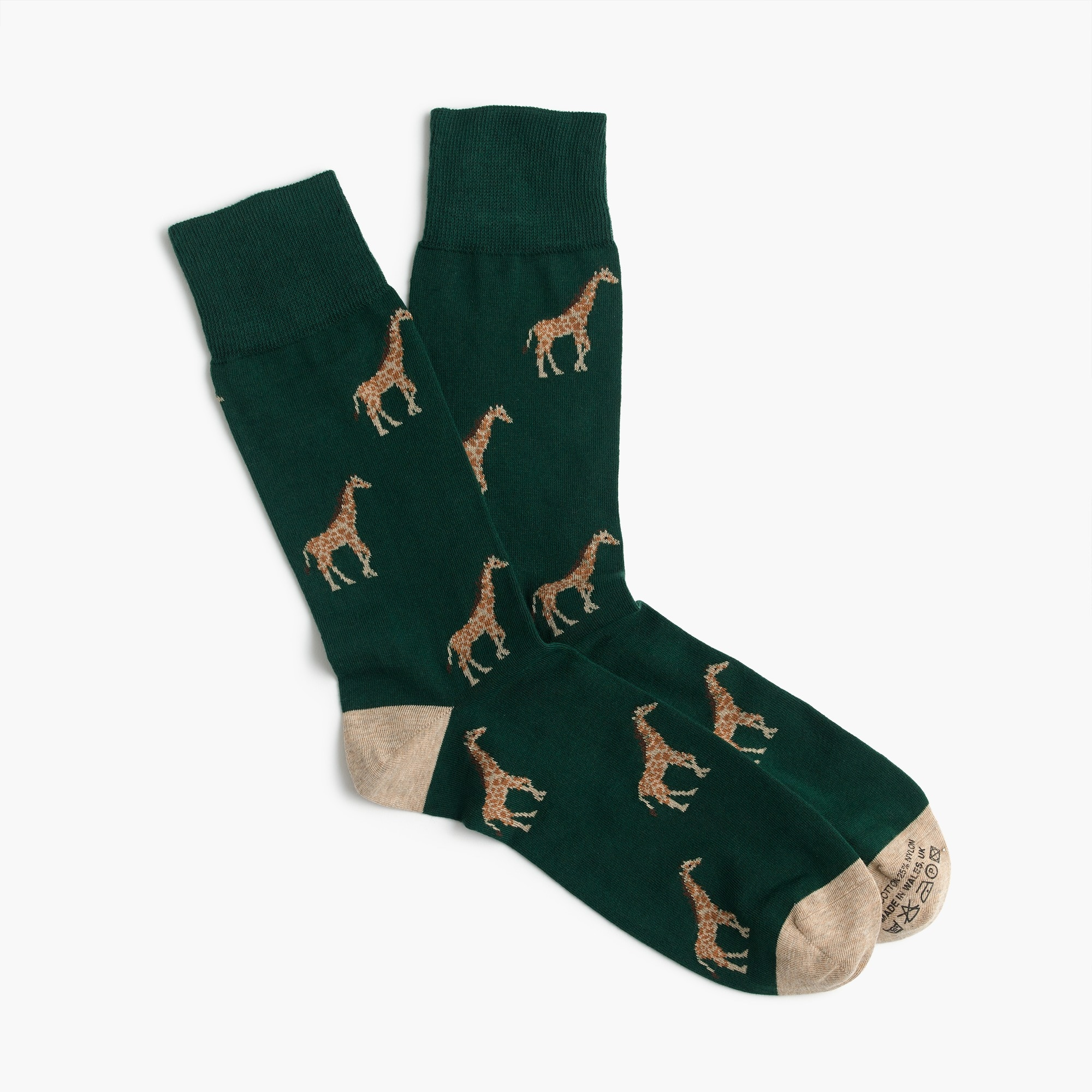 Corgi™ lightweight pattern socks men socks c