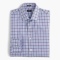 Ludlow shirt in bicolor gingham