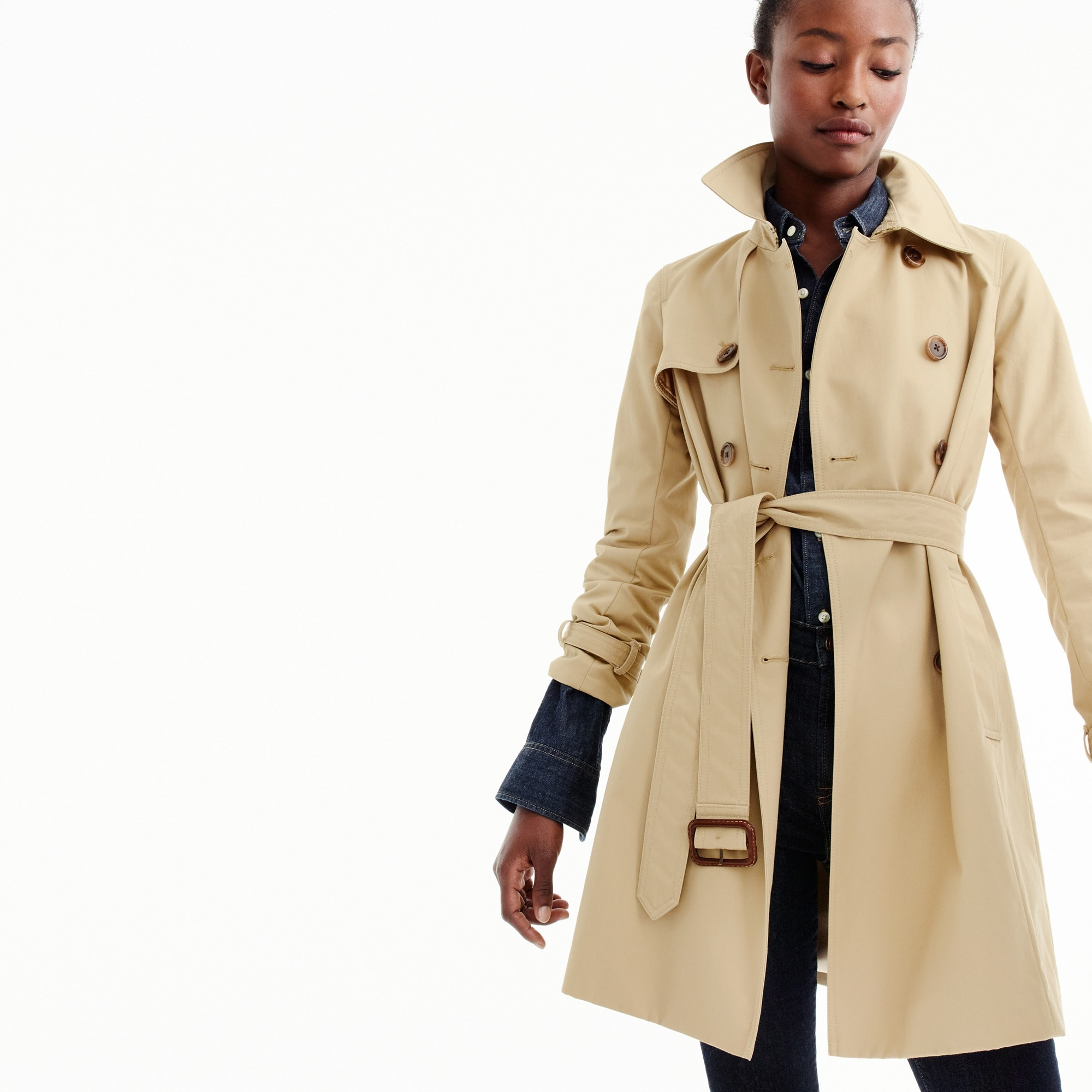 women's icon trench coat - women's blazers