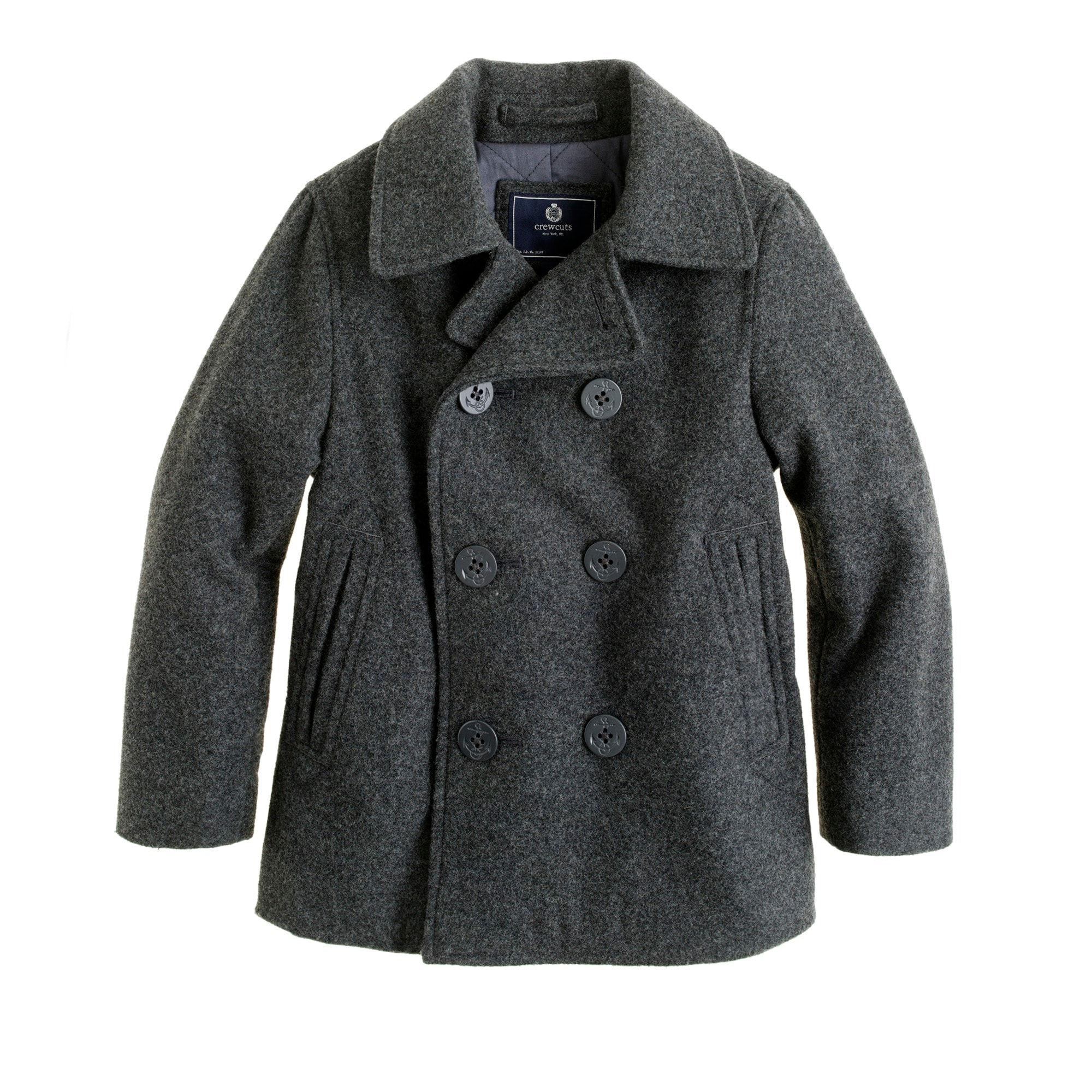 Boys' city peacoat with Thinsulate®