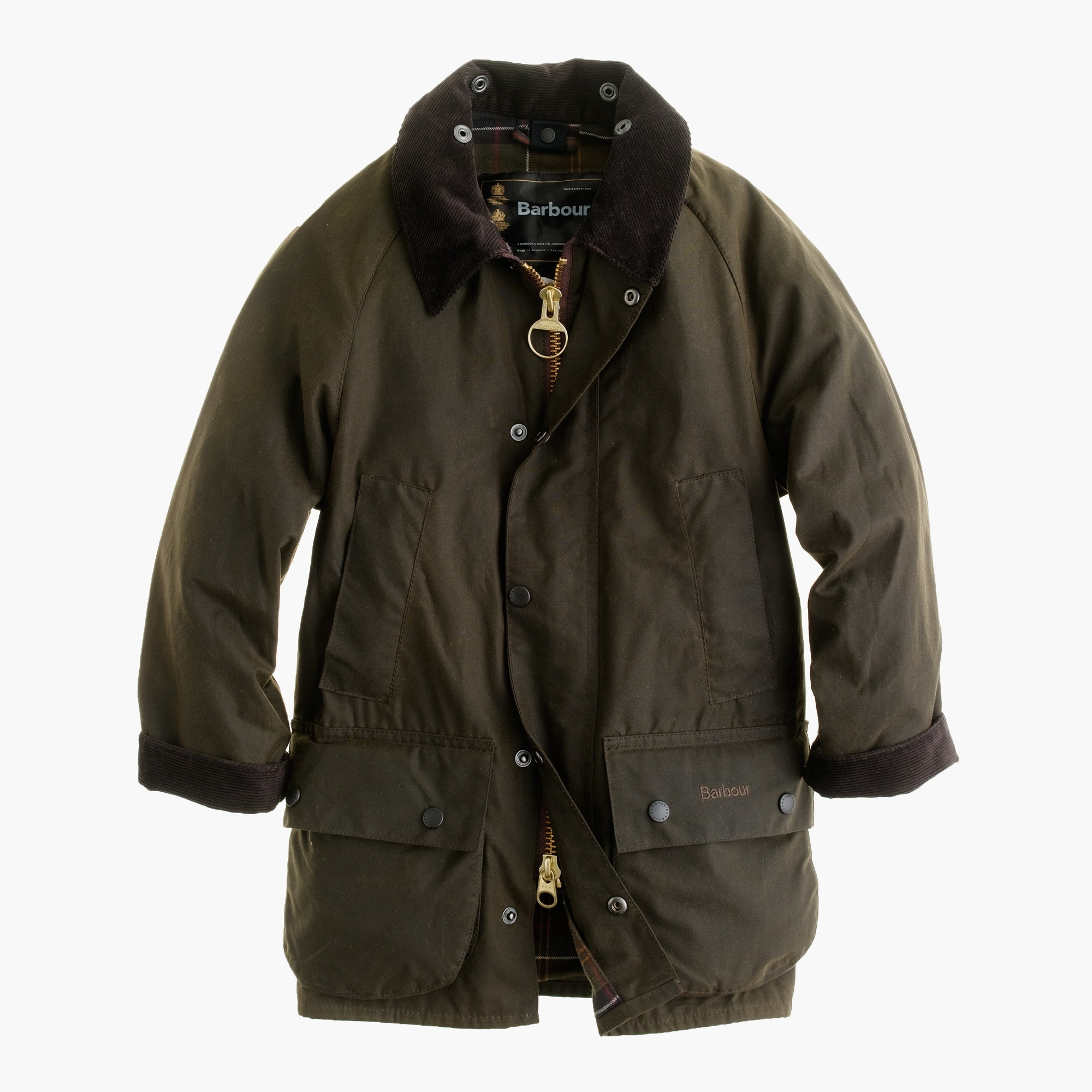 Kids' Barbour® Beaufort jacket girl j.crew in good company c
