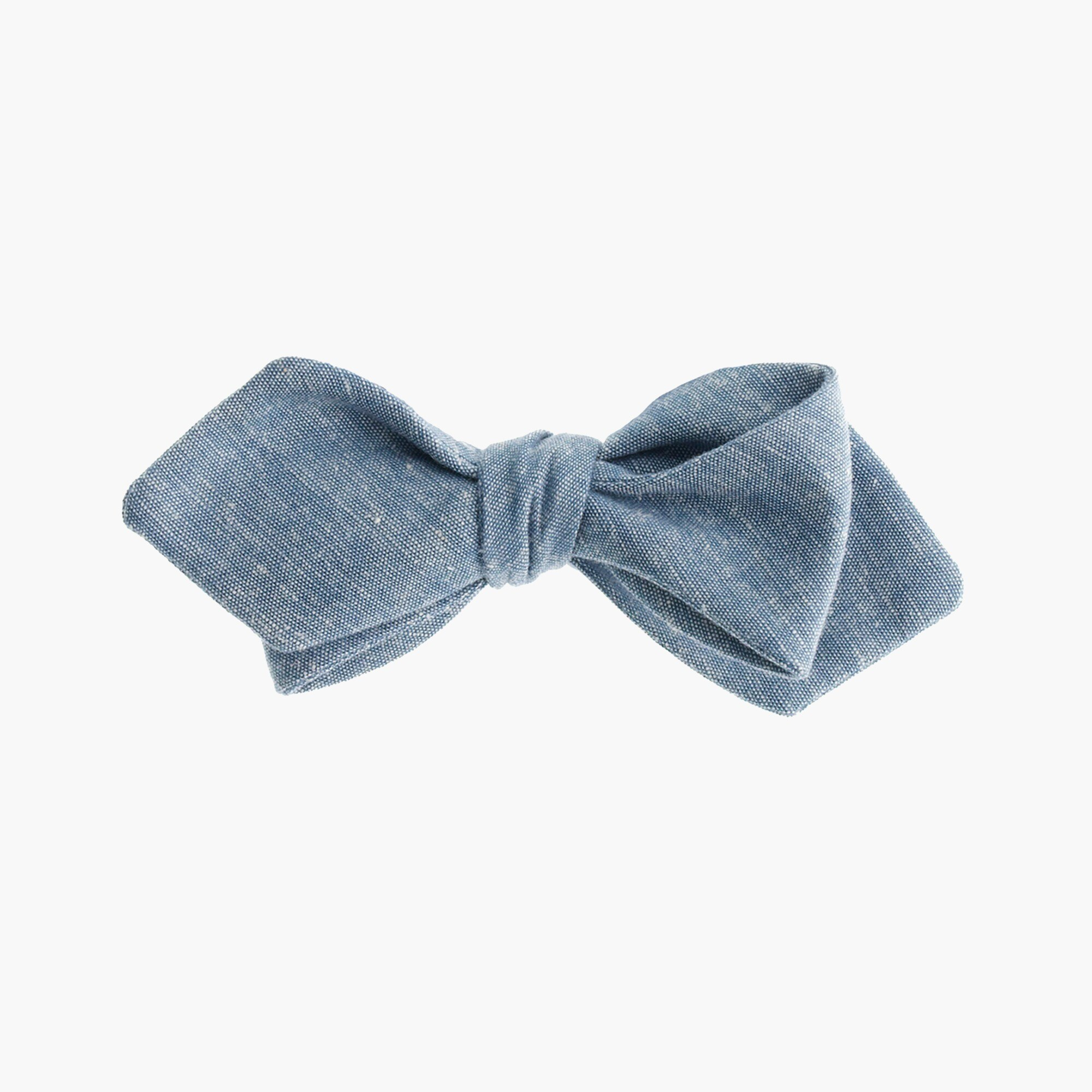 Image 1 for Chambray bow tie